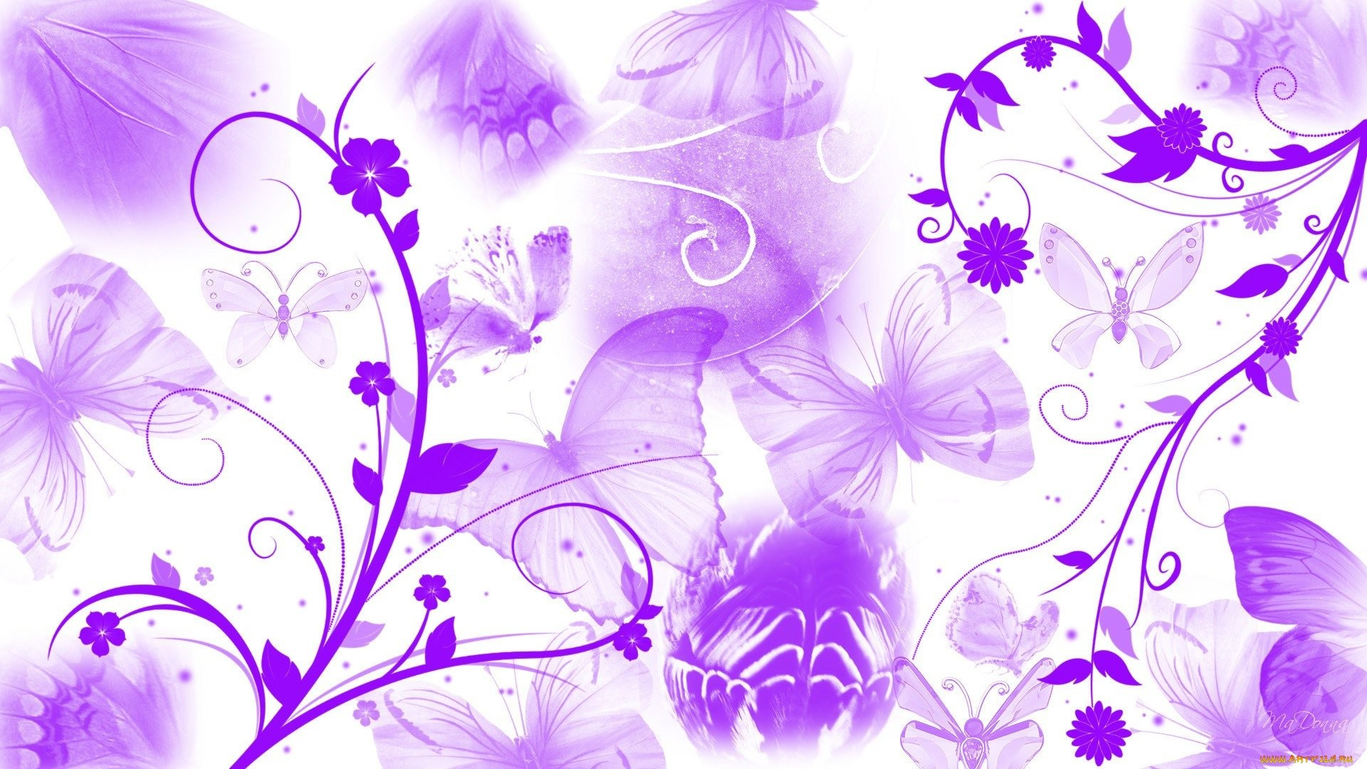 Women's Day Vector Flowers free image
