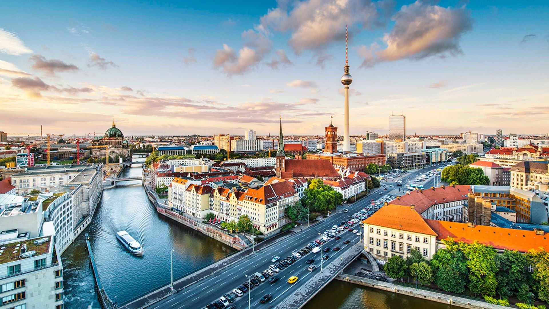 Berlin HD Desktop Wallpaper