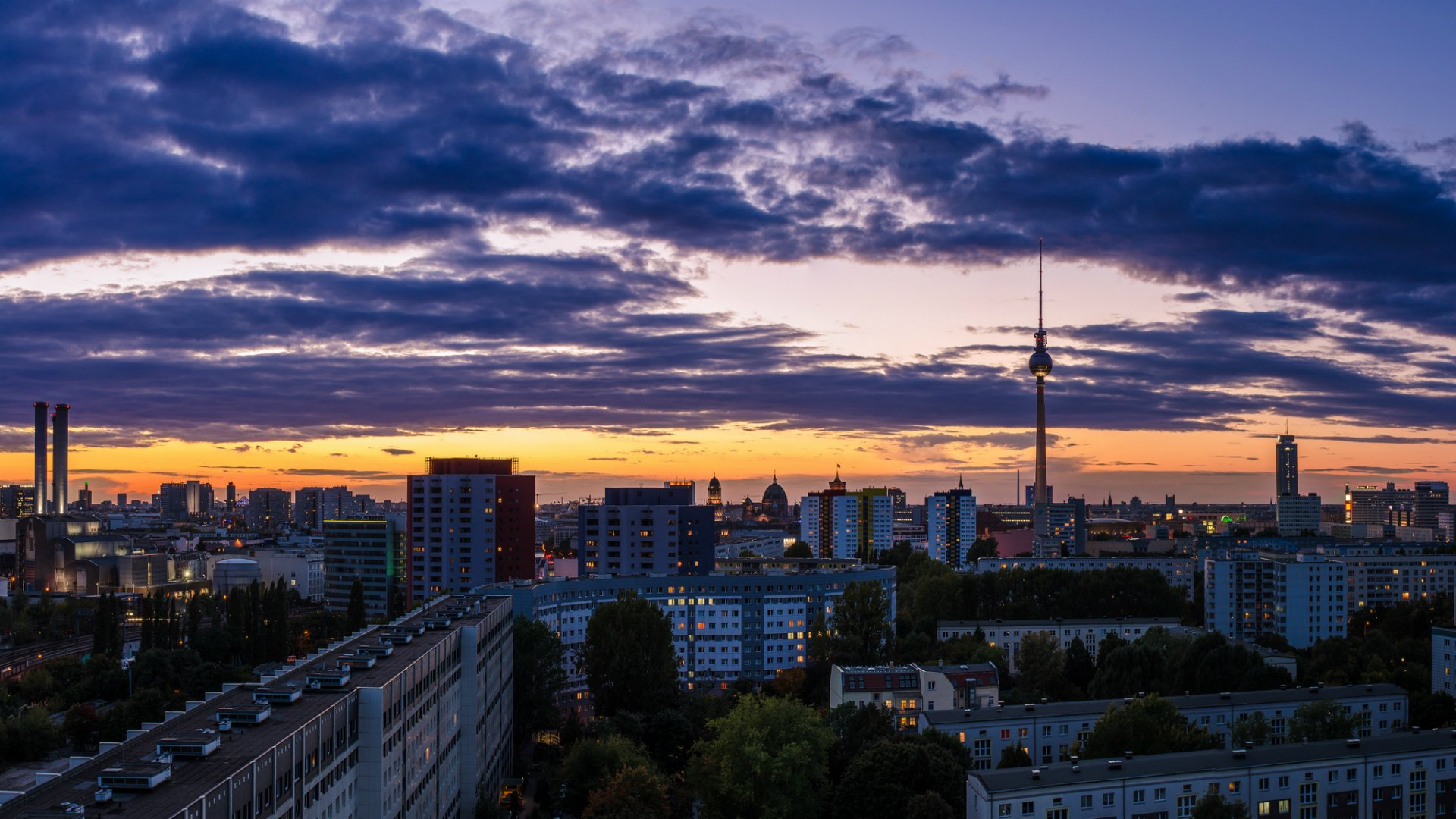 Berlin Background Wallpaper