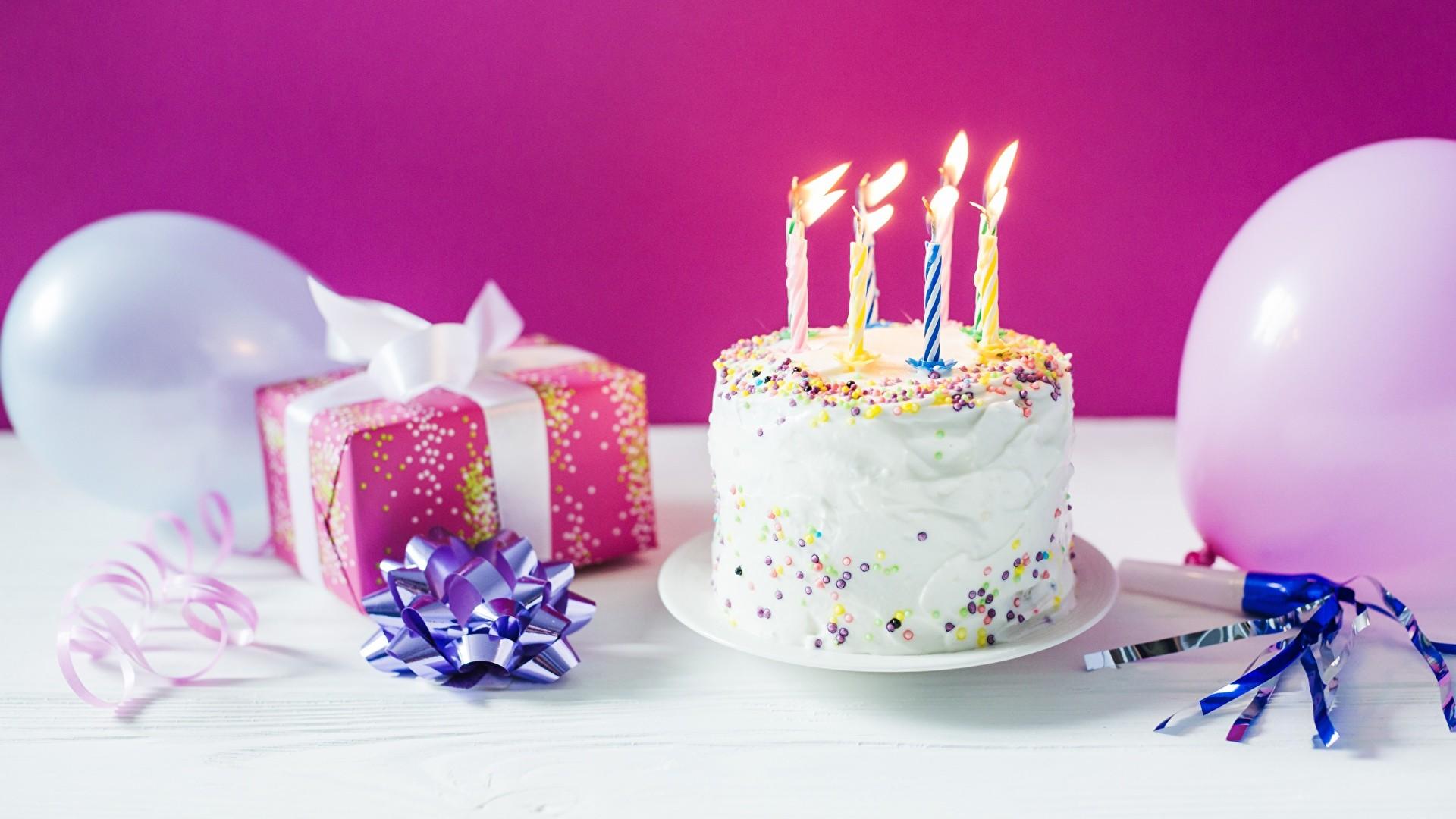 Birthday Cake background image