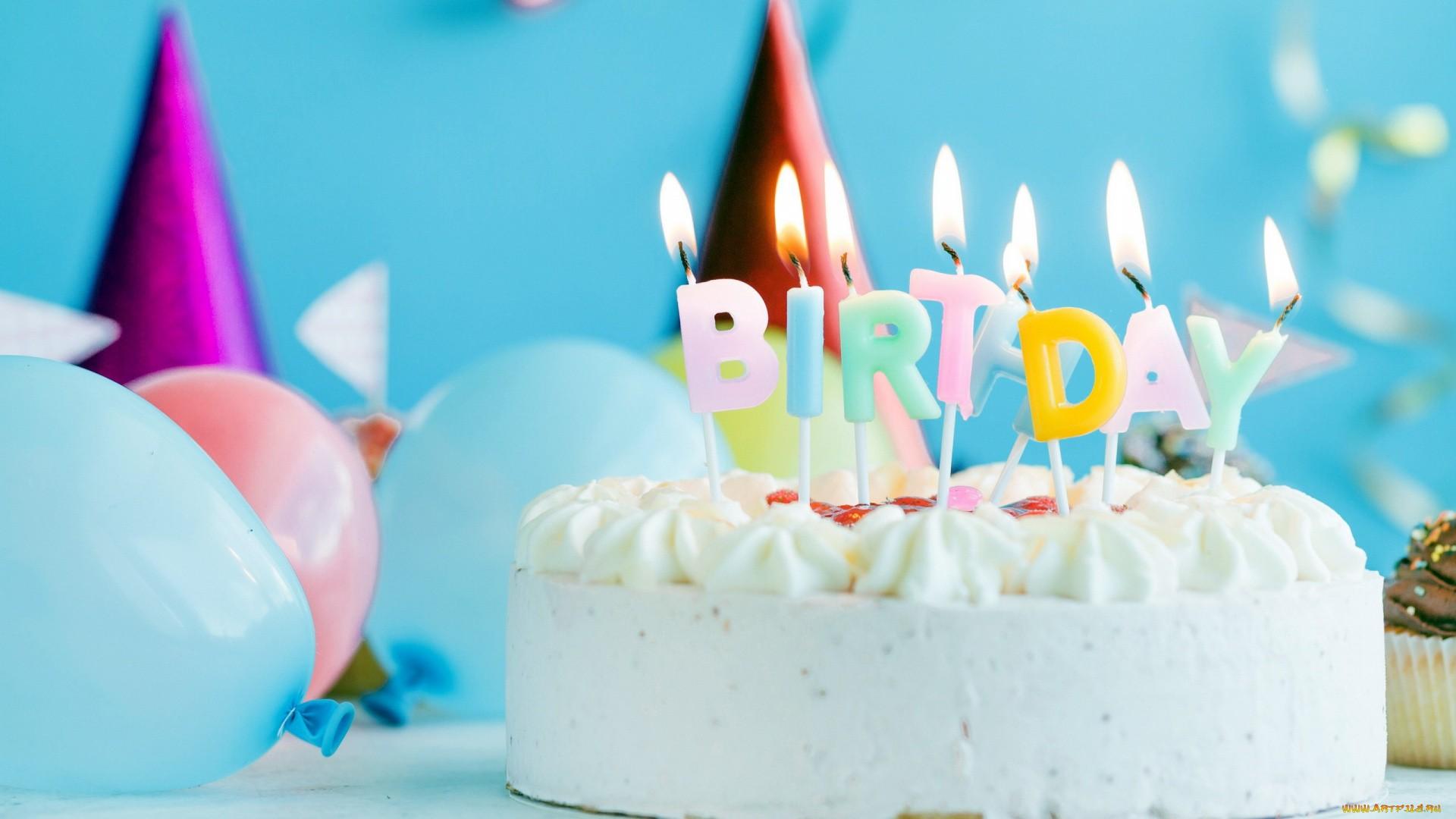 Birthday Cake background wallpaper