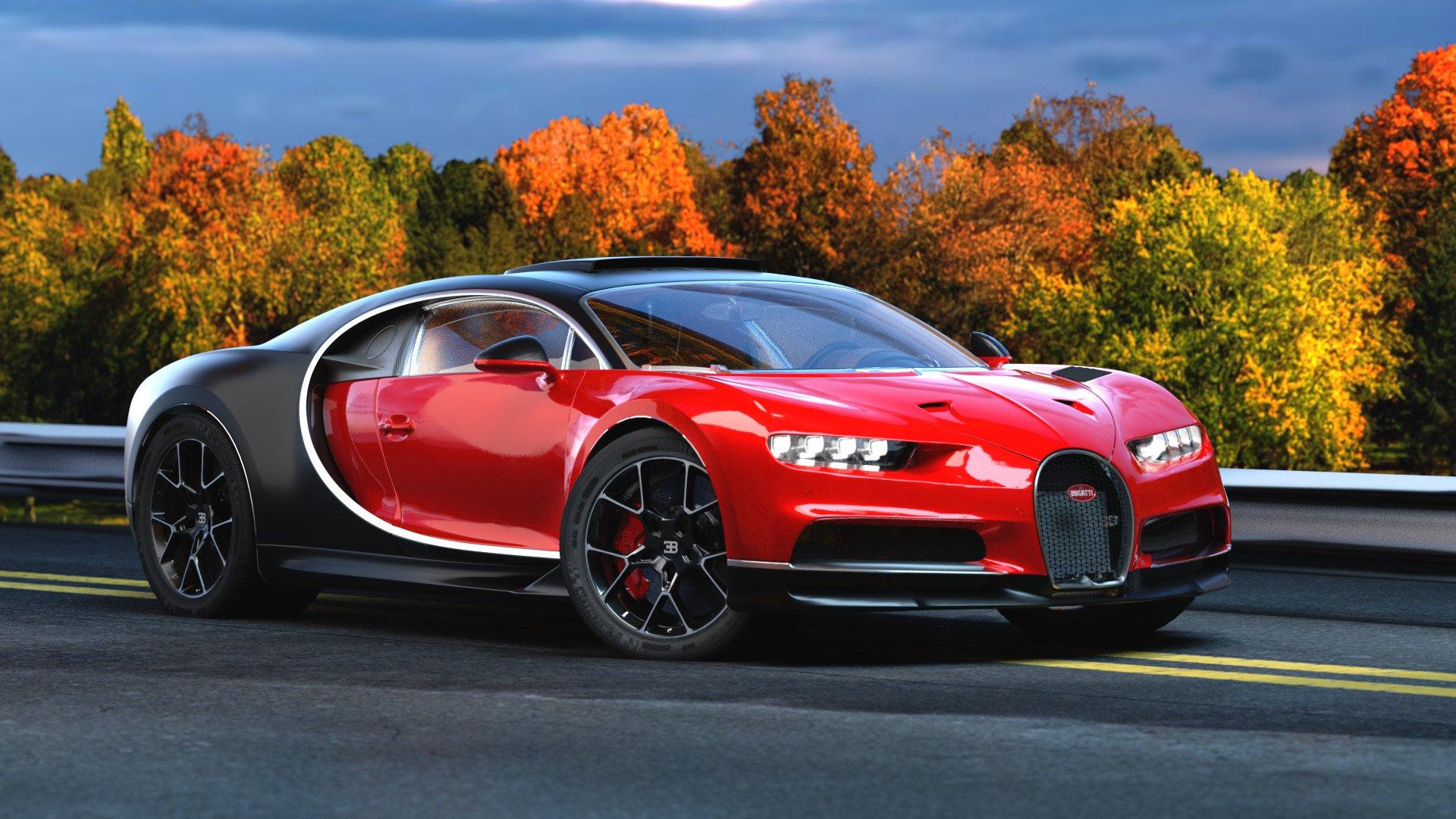 Bugatti wallpaper theme