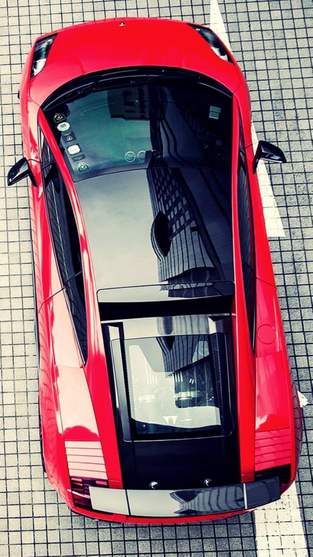 Lamborghini Cell iOS 11 wallpaper