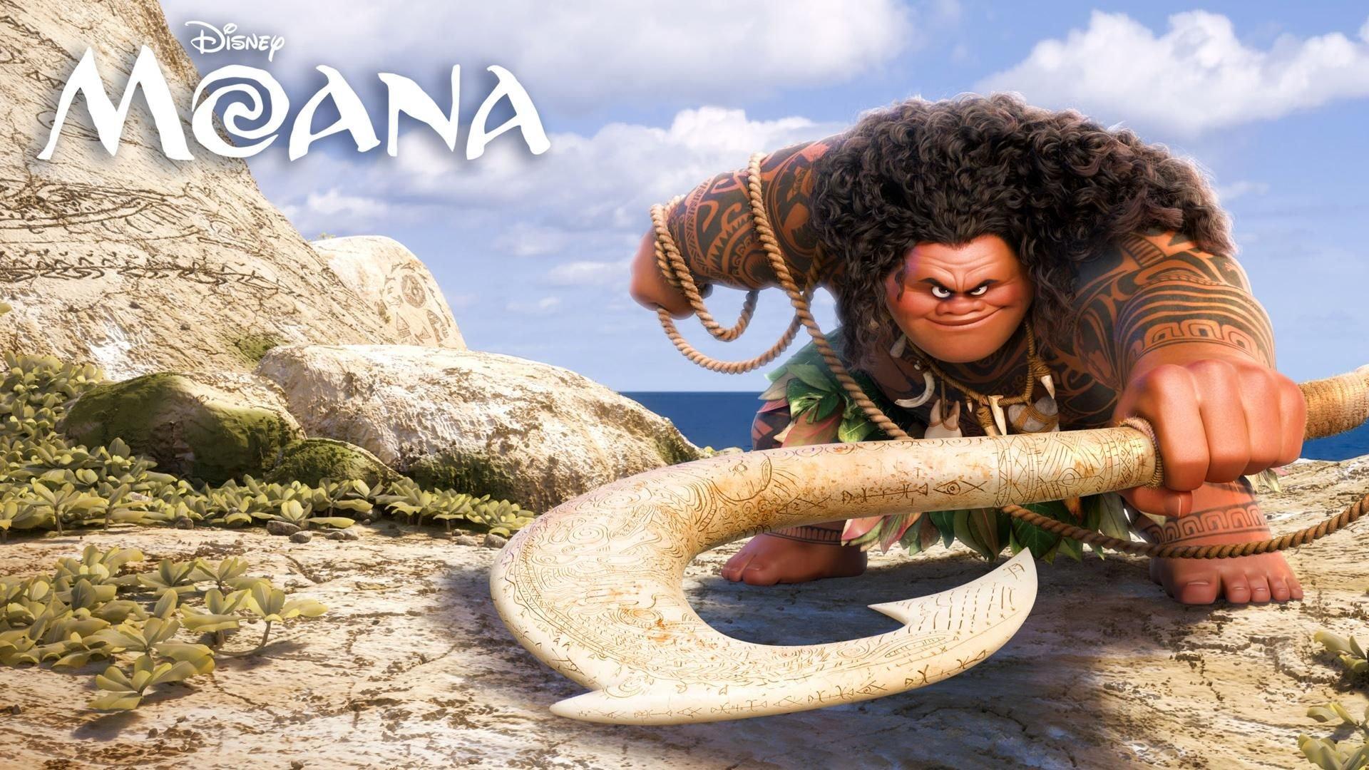 Moana Background Wallpaper