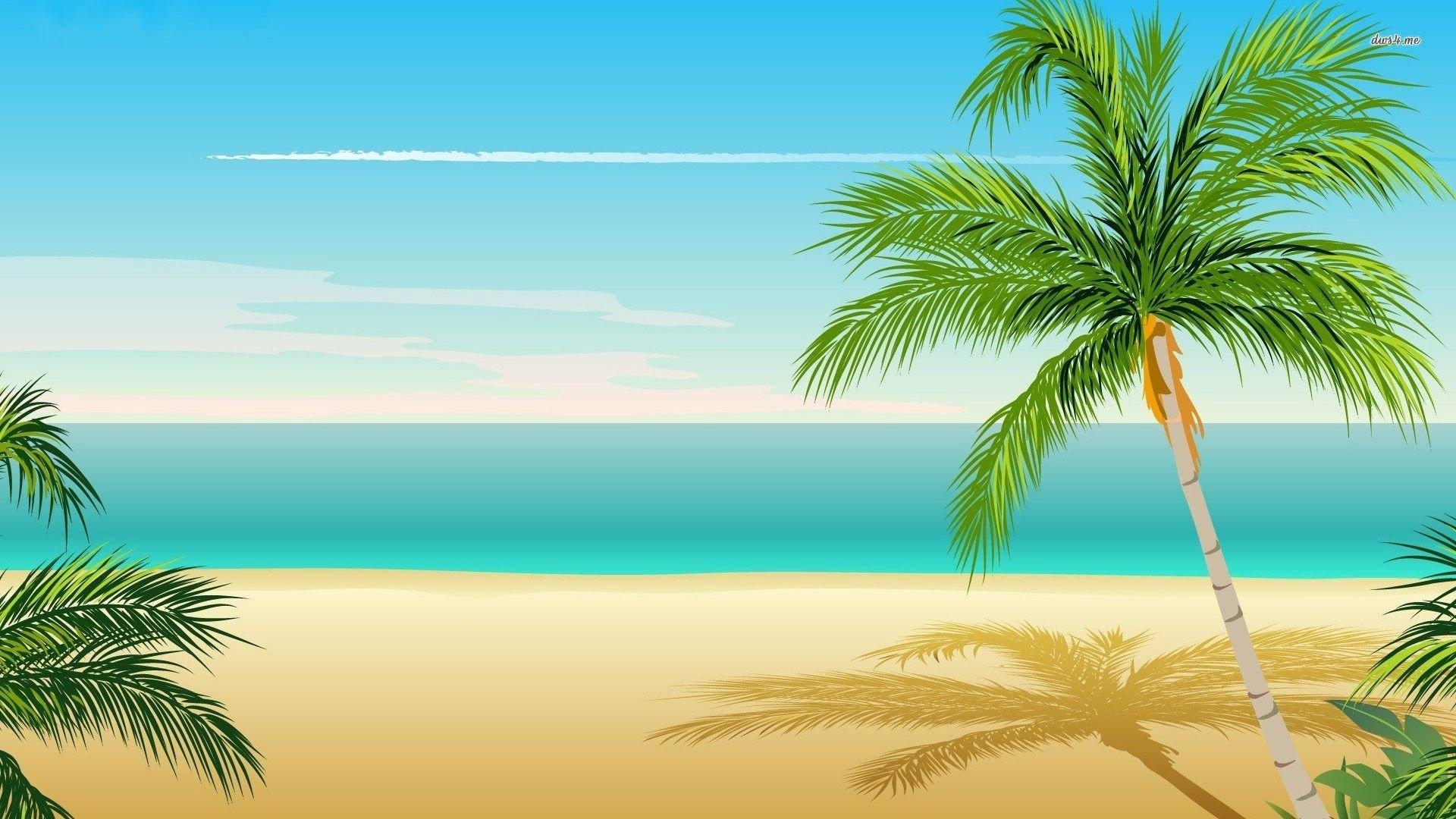 Palm Tree Screensaver screen wallpaper