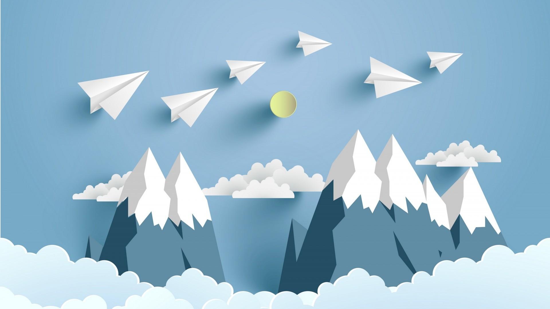 Paper Airplane 1080p