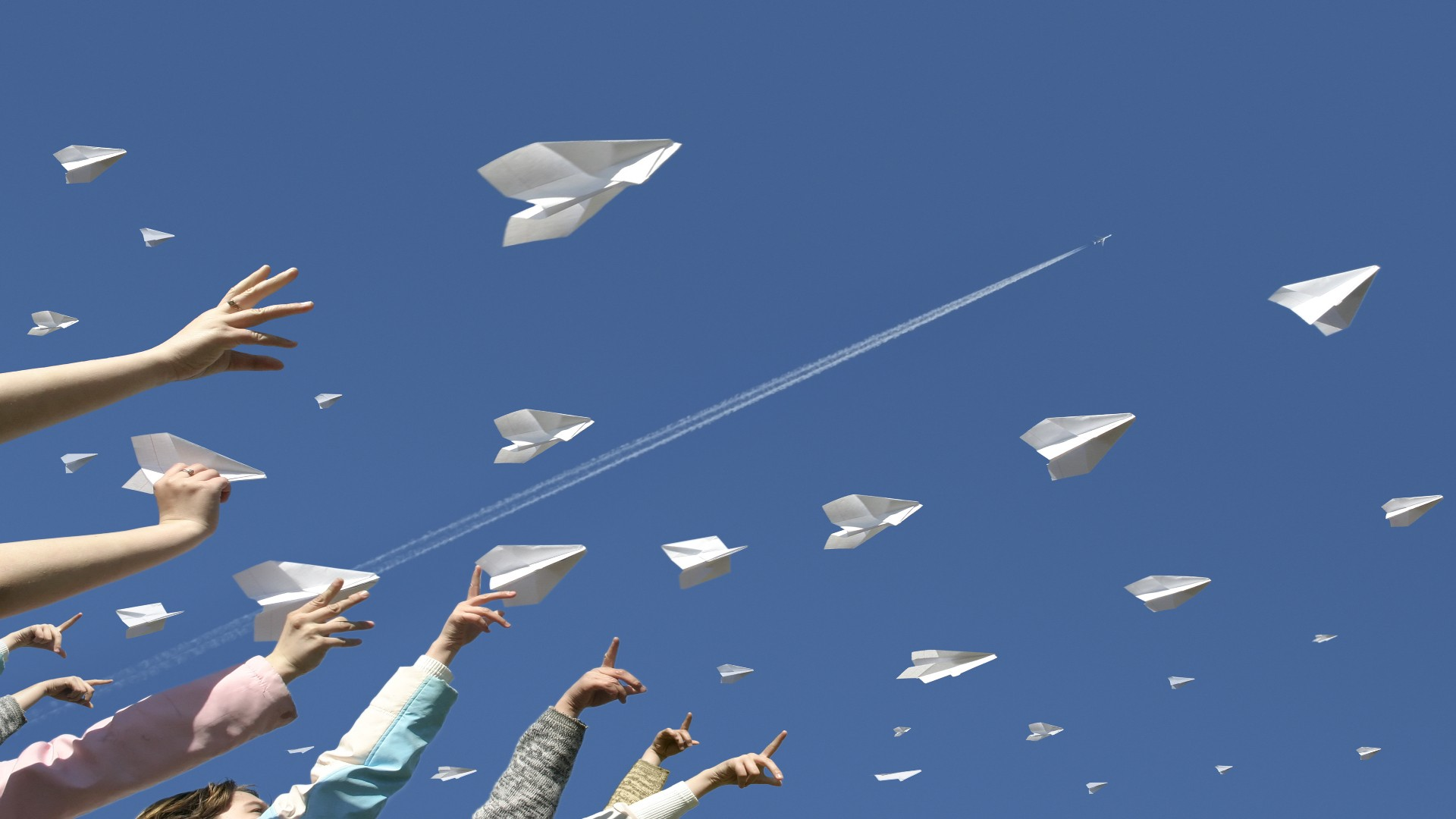 Paper Airplane jpg picture