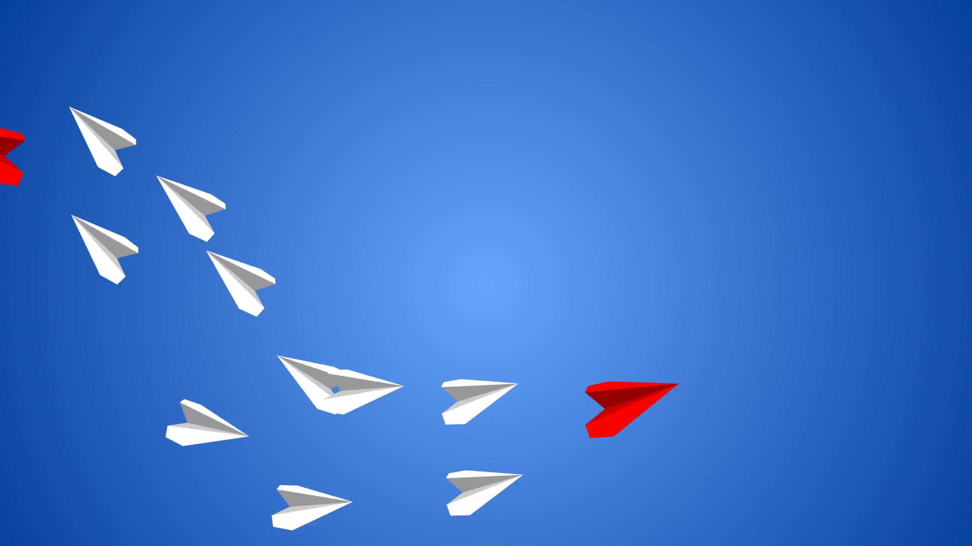 Paper Airplane free background