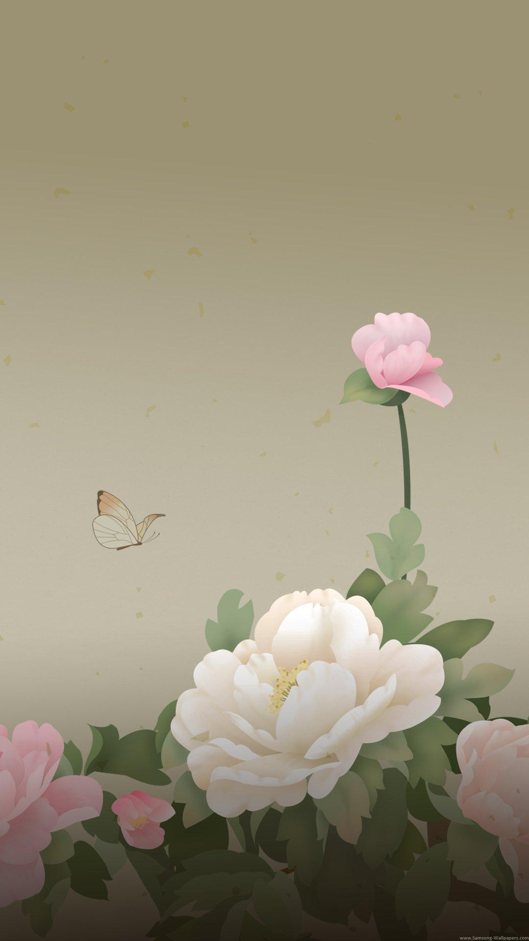 Peony iPhone 7 Wallpaper