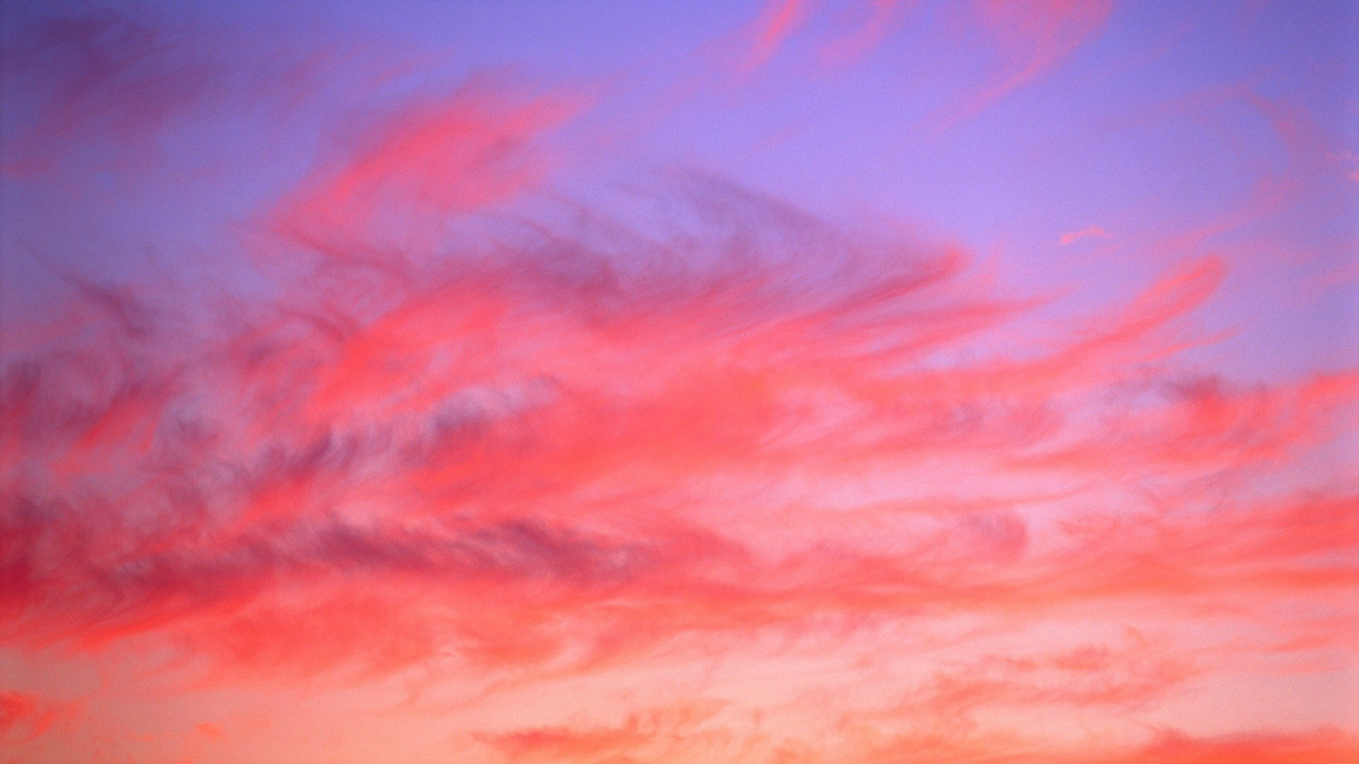 Pink Sky full screen hd wallpaper