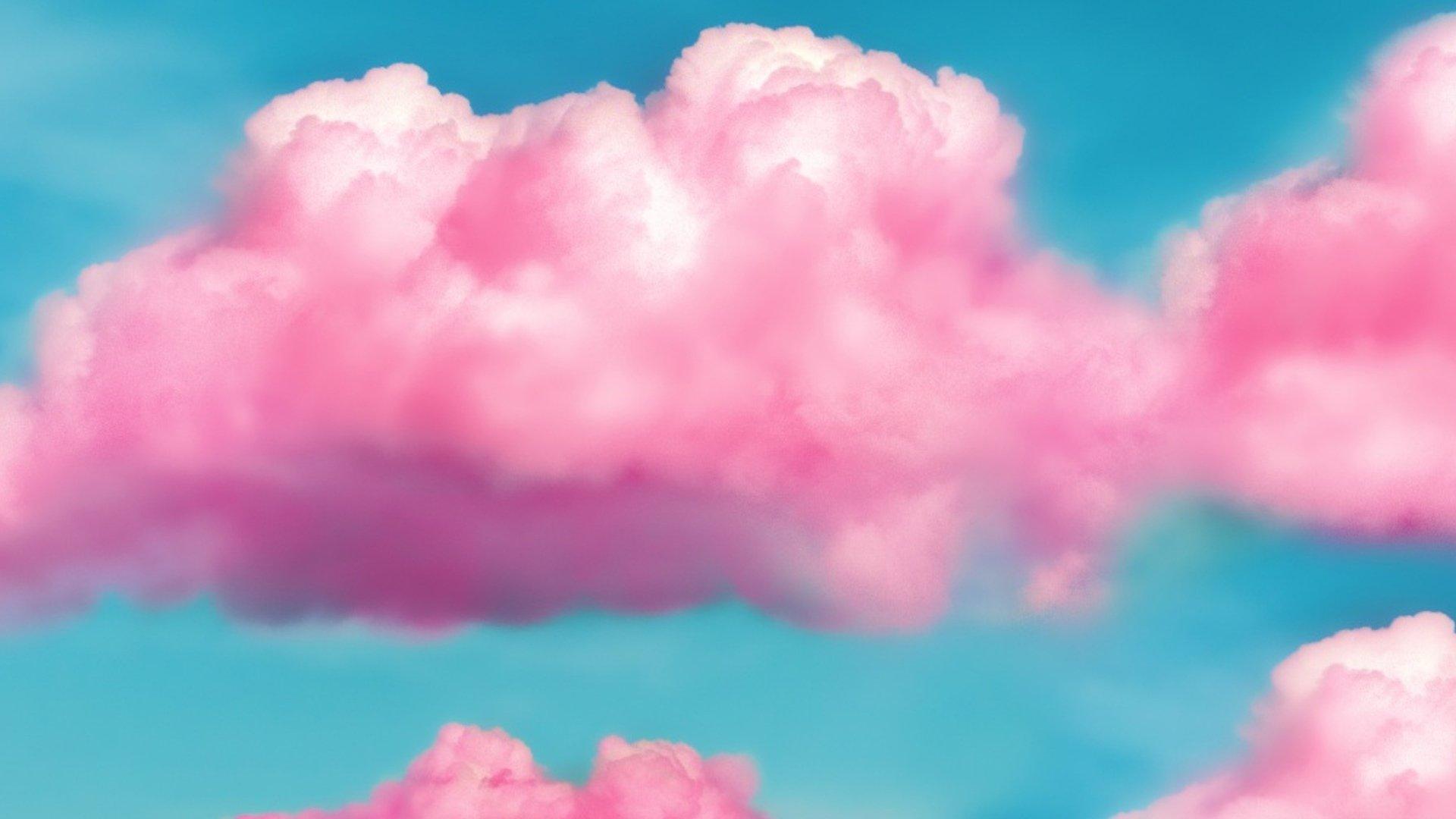 Pink Sky 1080p Wallpaper