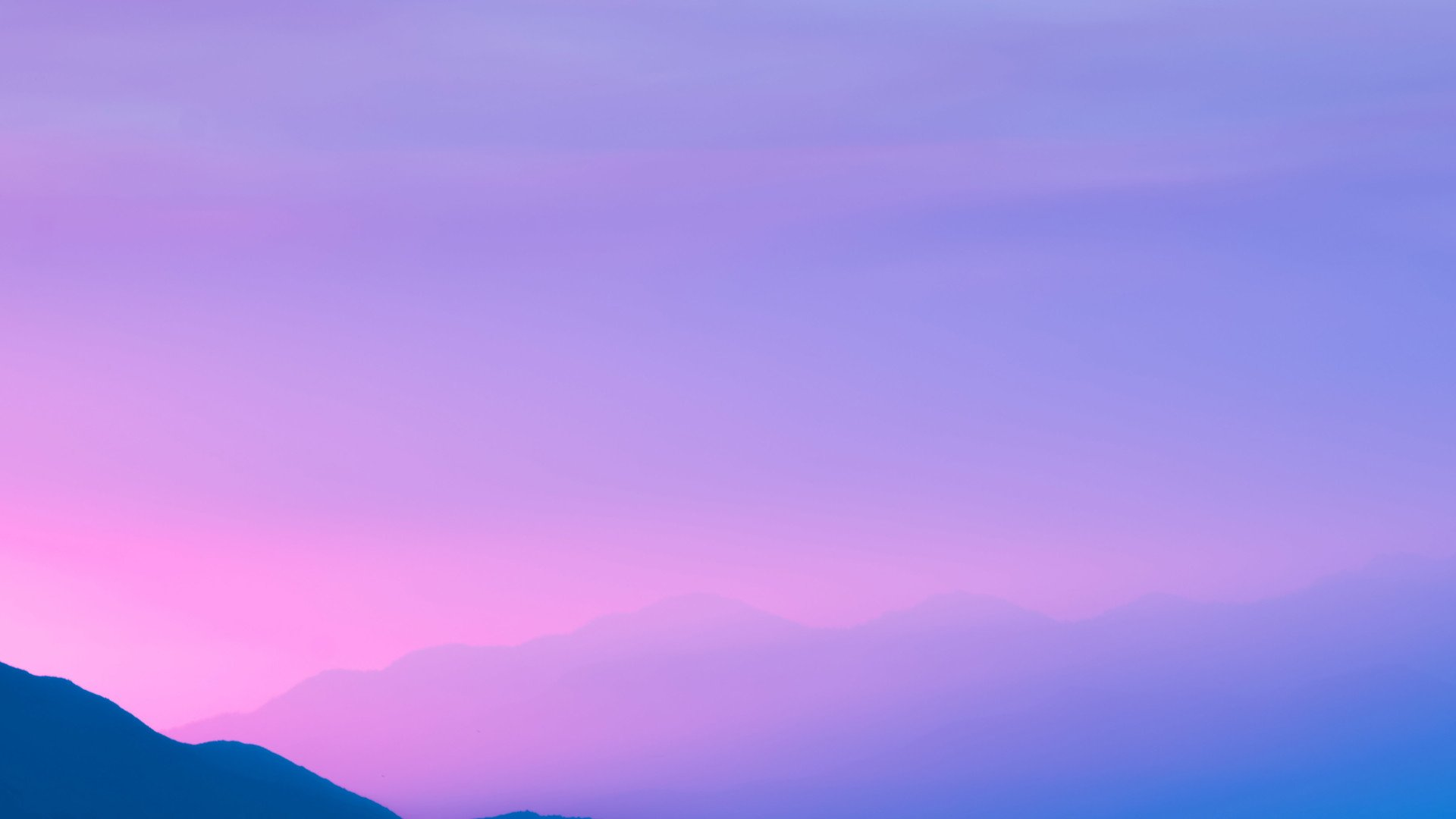 Pink Sky Free Download Wallpaper