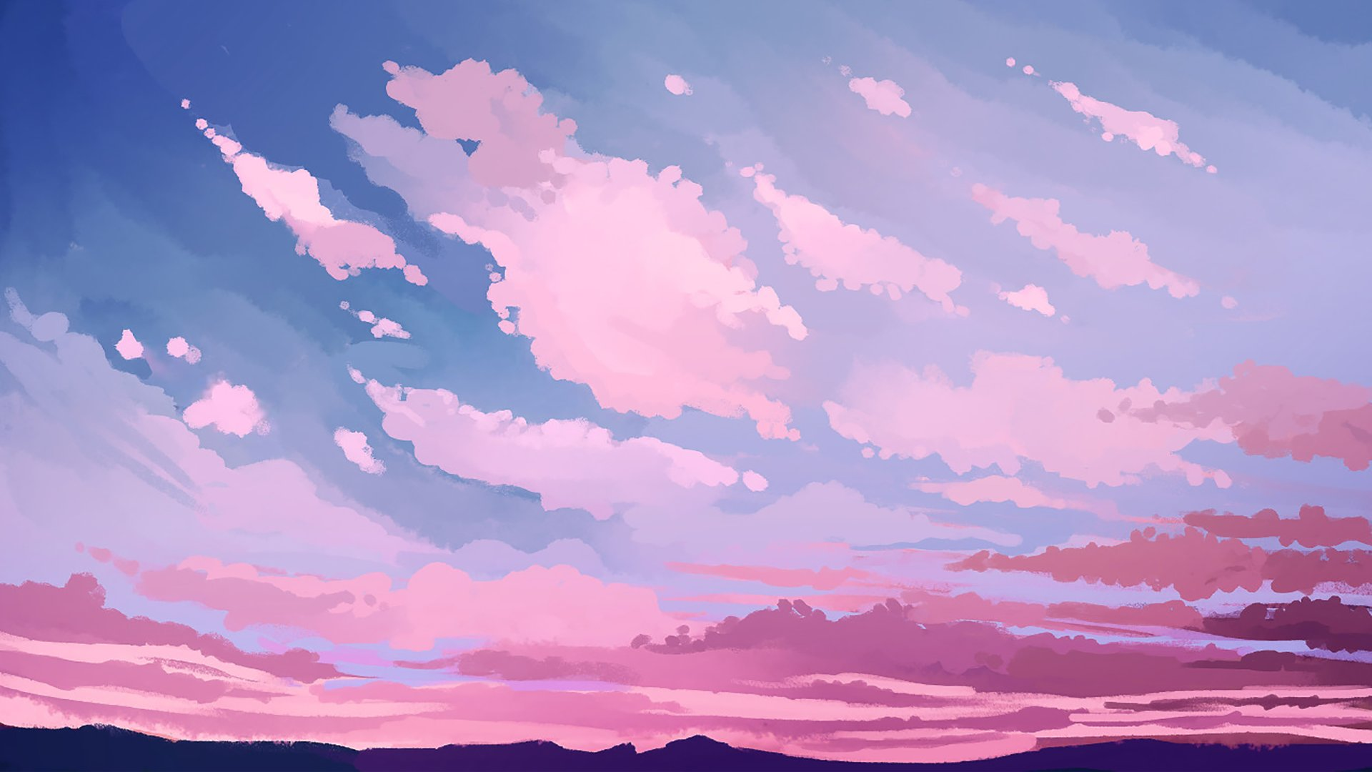 Pink Sky Wallpaper Picture