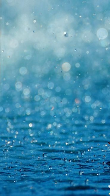 Rain iOS 8 wallpaper