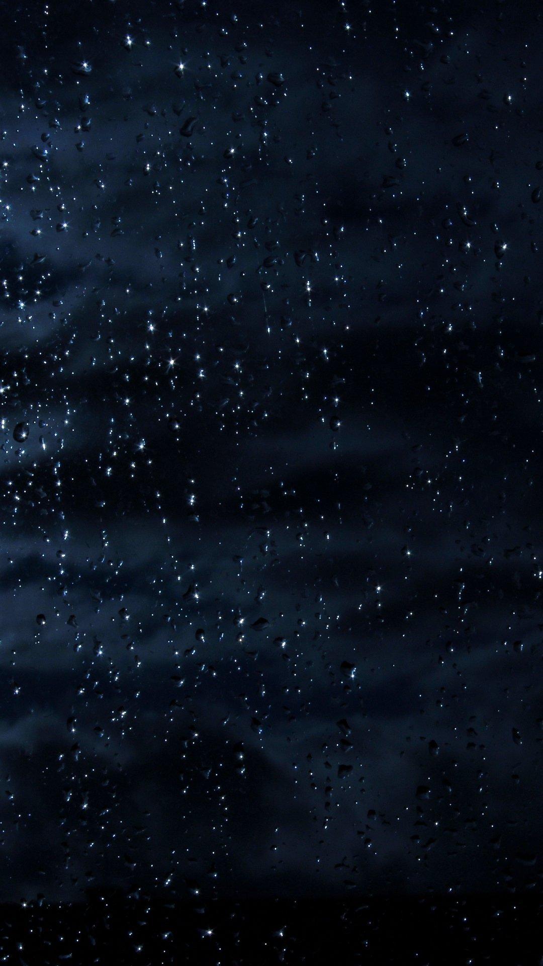Rain iPhone xs wallpaper