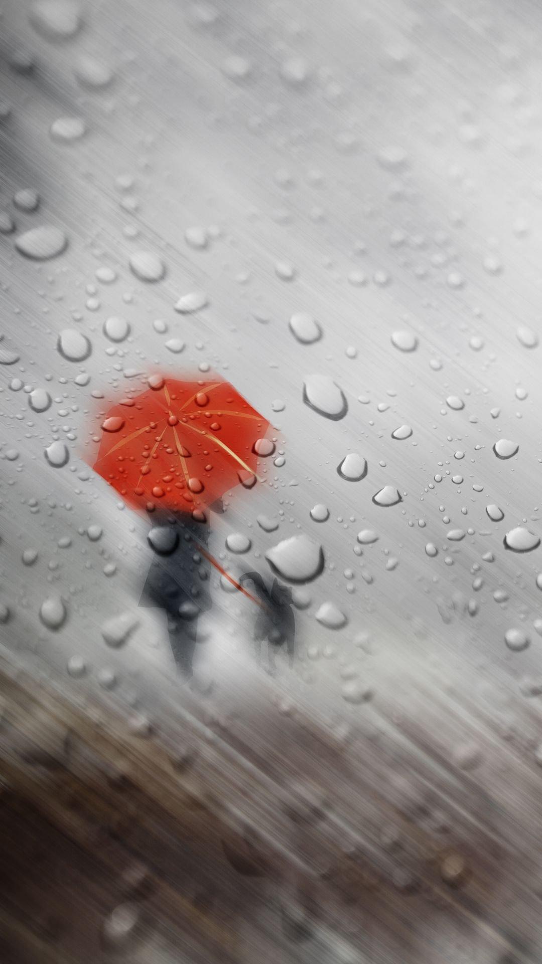 Rain wallpaper for mobile