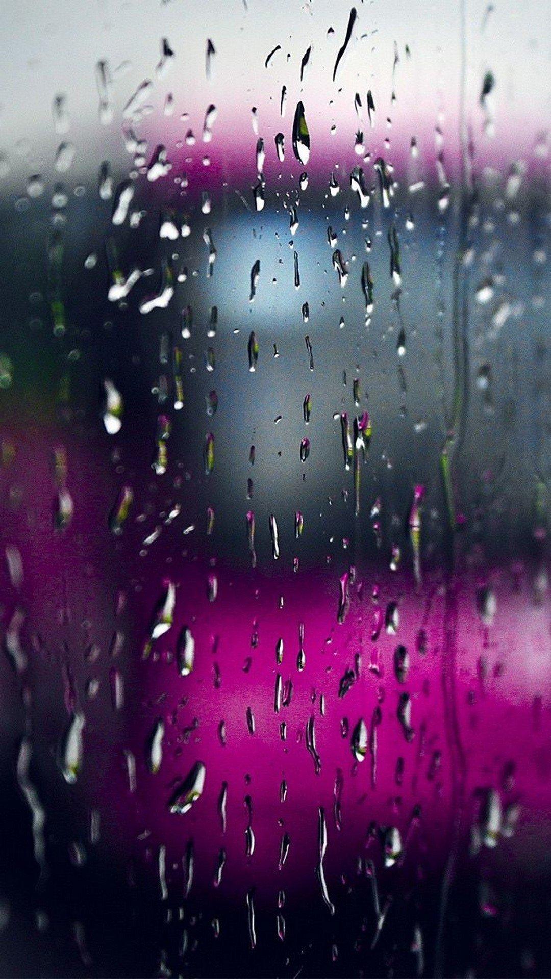 Rain screensaver wallpaper
