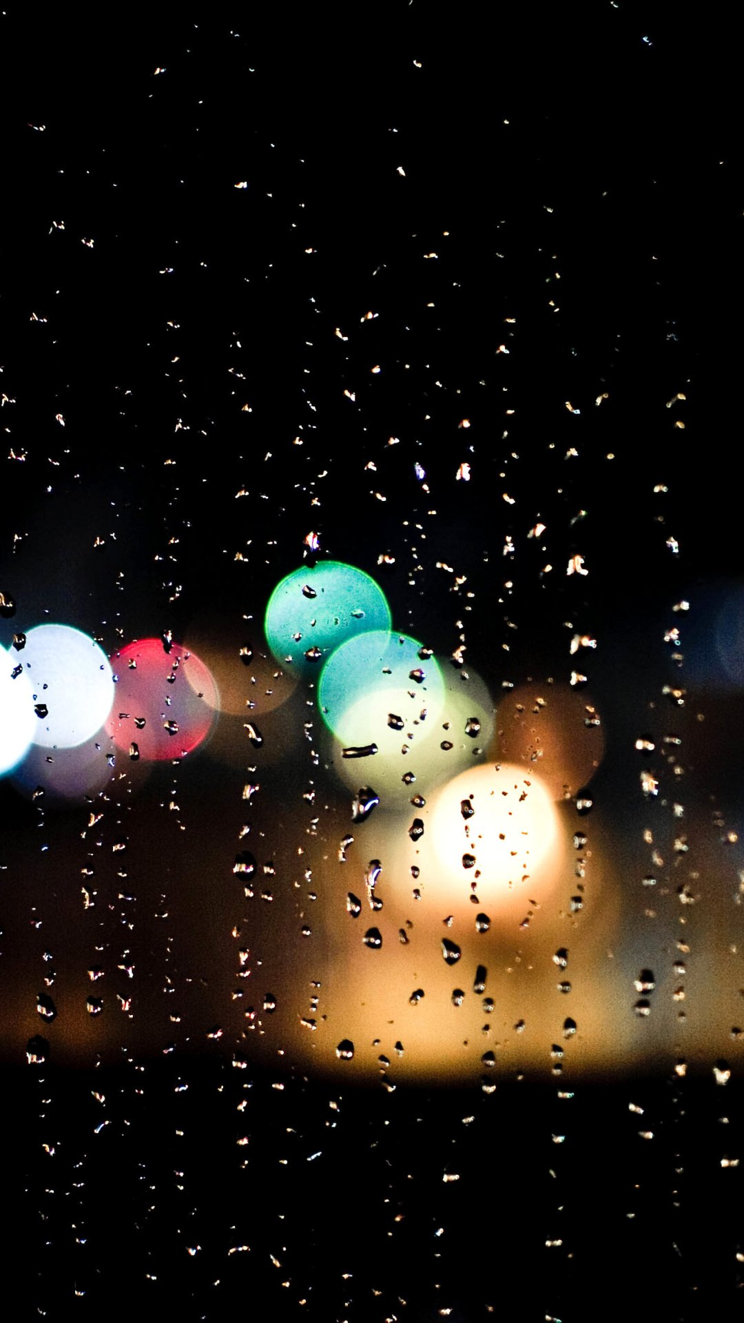 Rain HD wallpaper for mobile