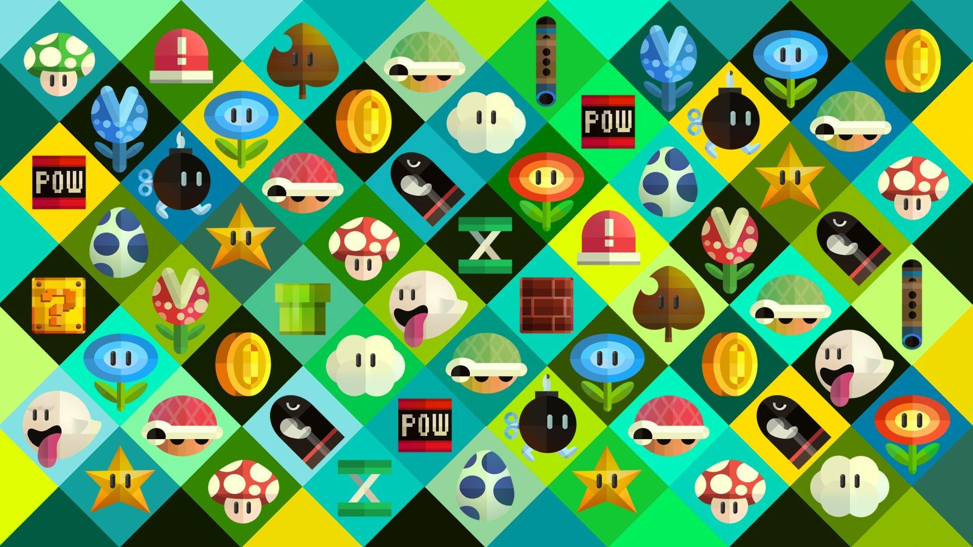 Retro Gaming background wallpaper