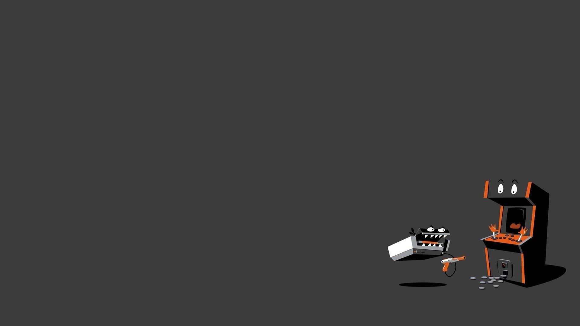 Retro Gaming desktop wallpaper