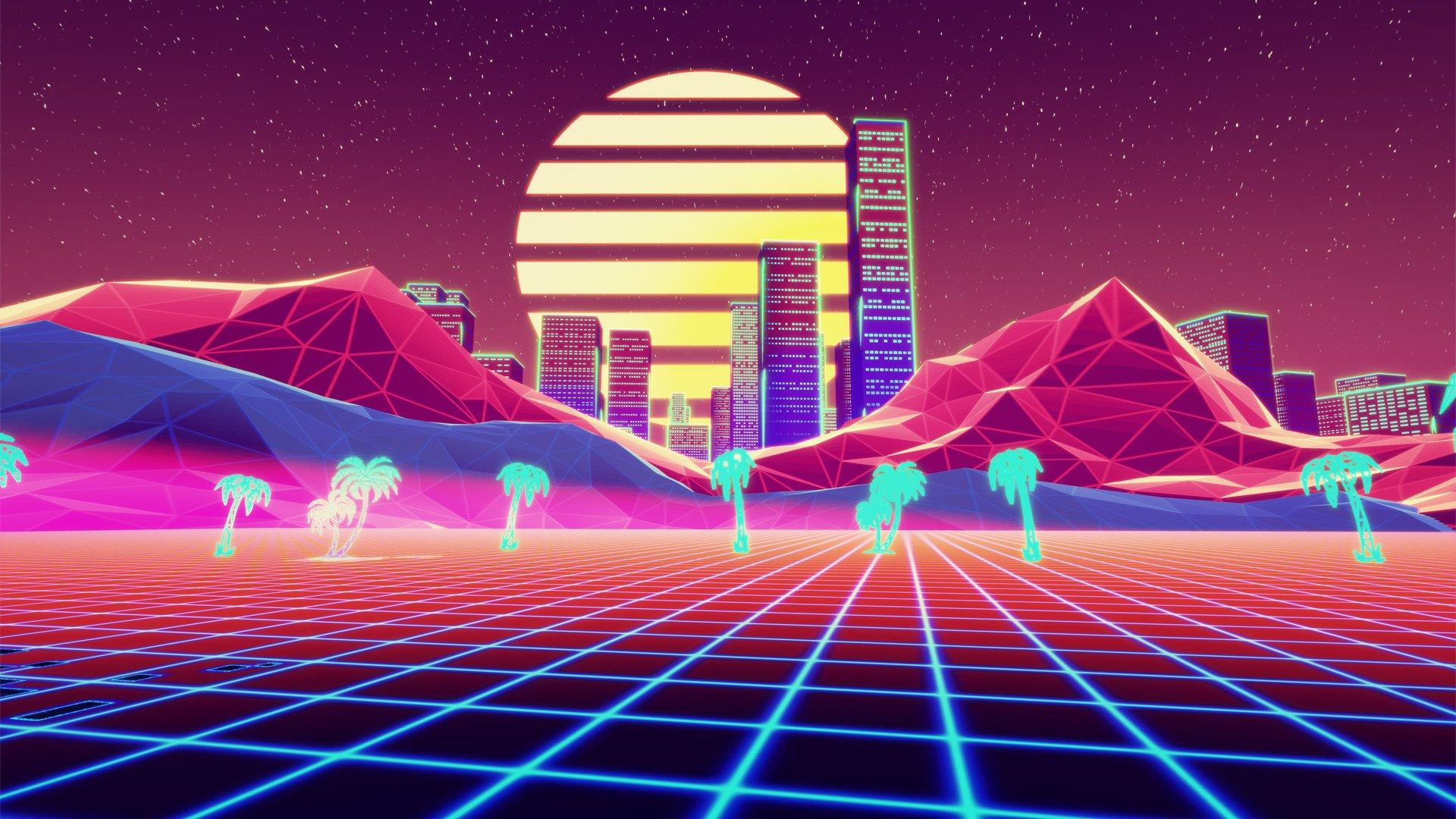 Retro Gaming Background