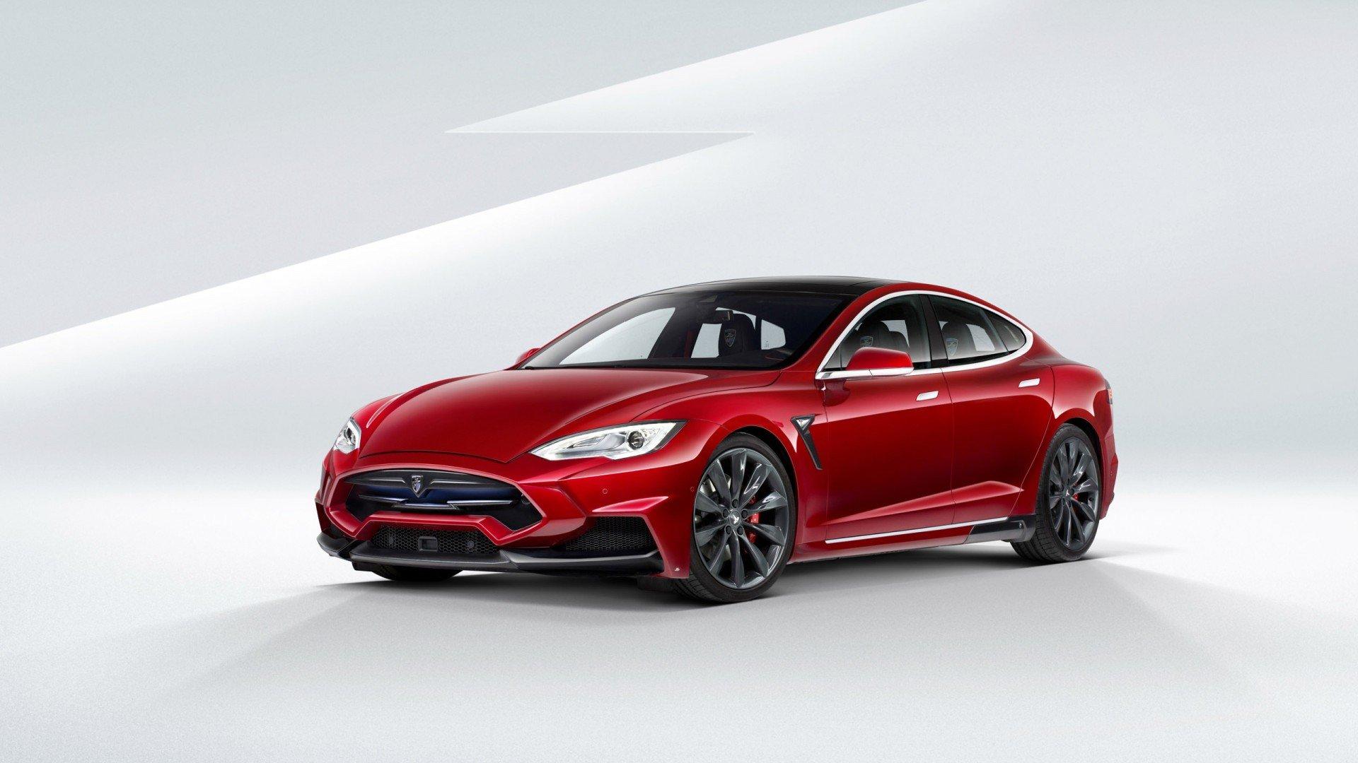 Tesla Background Wallpaper