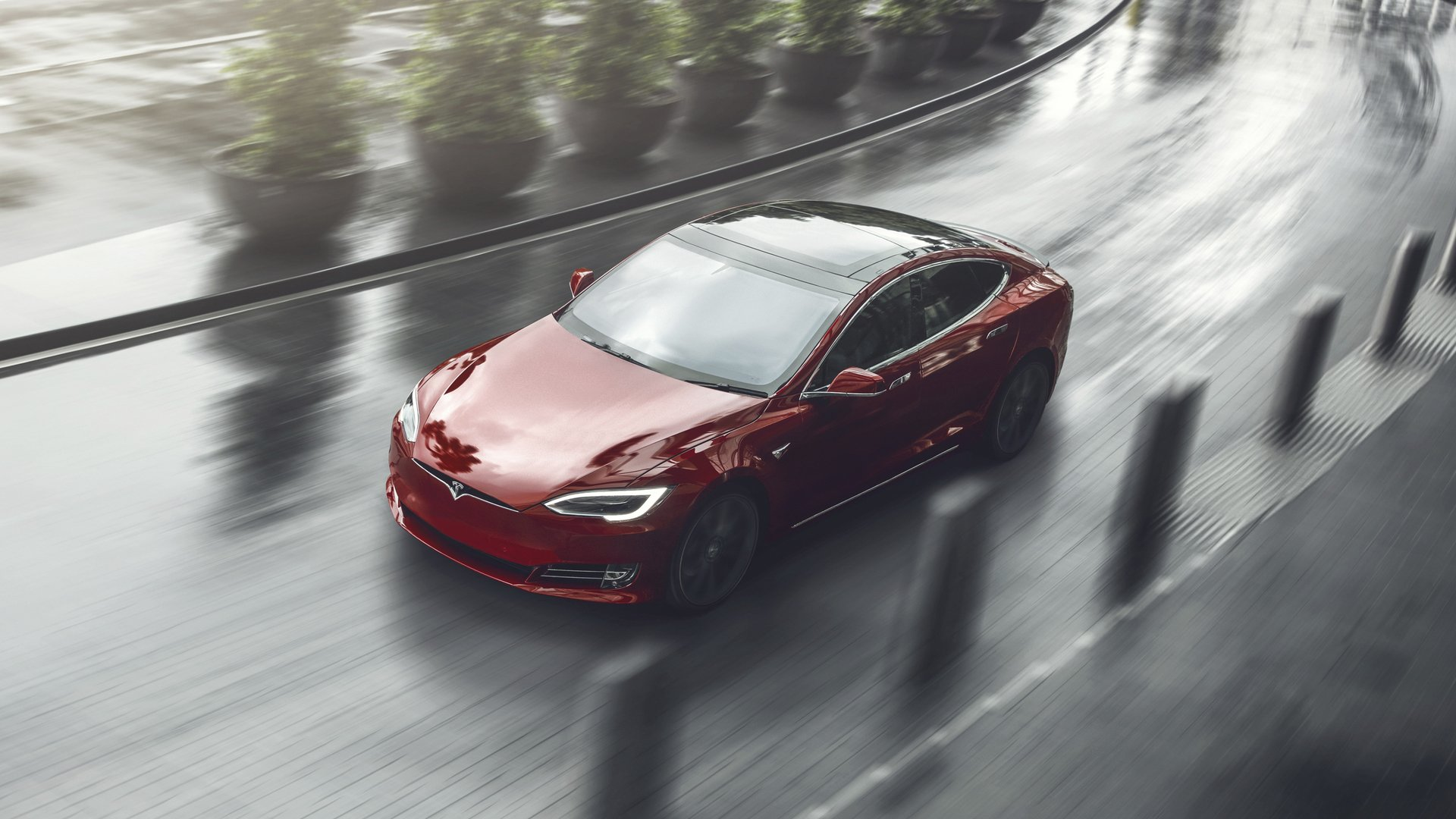 Tesla screen wallpaper