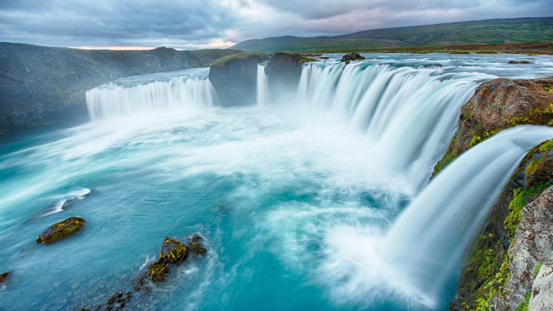 Waterfall full hd wallpaper