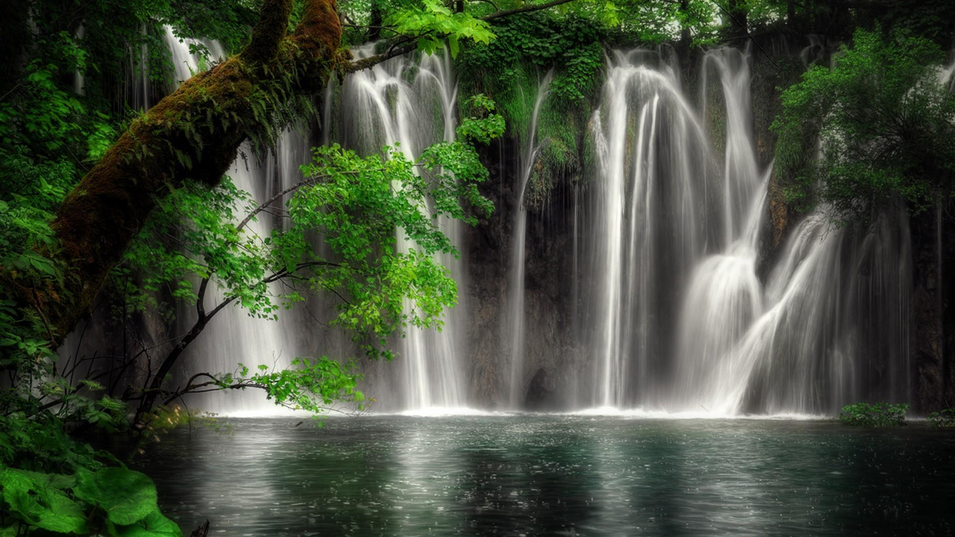 Waterfall wallpaper background