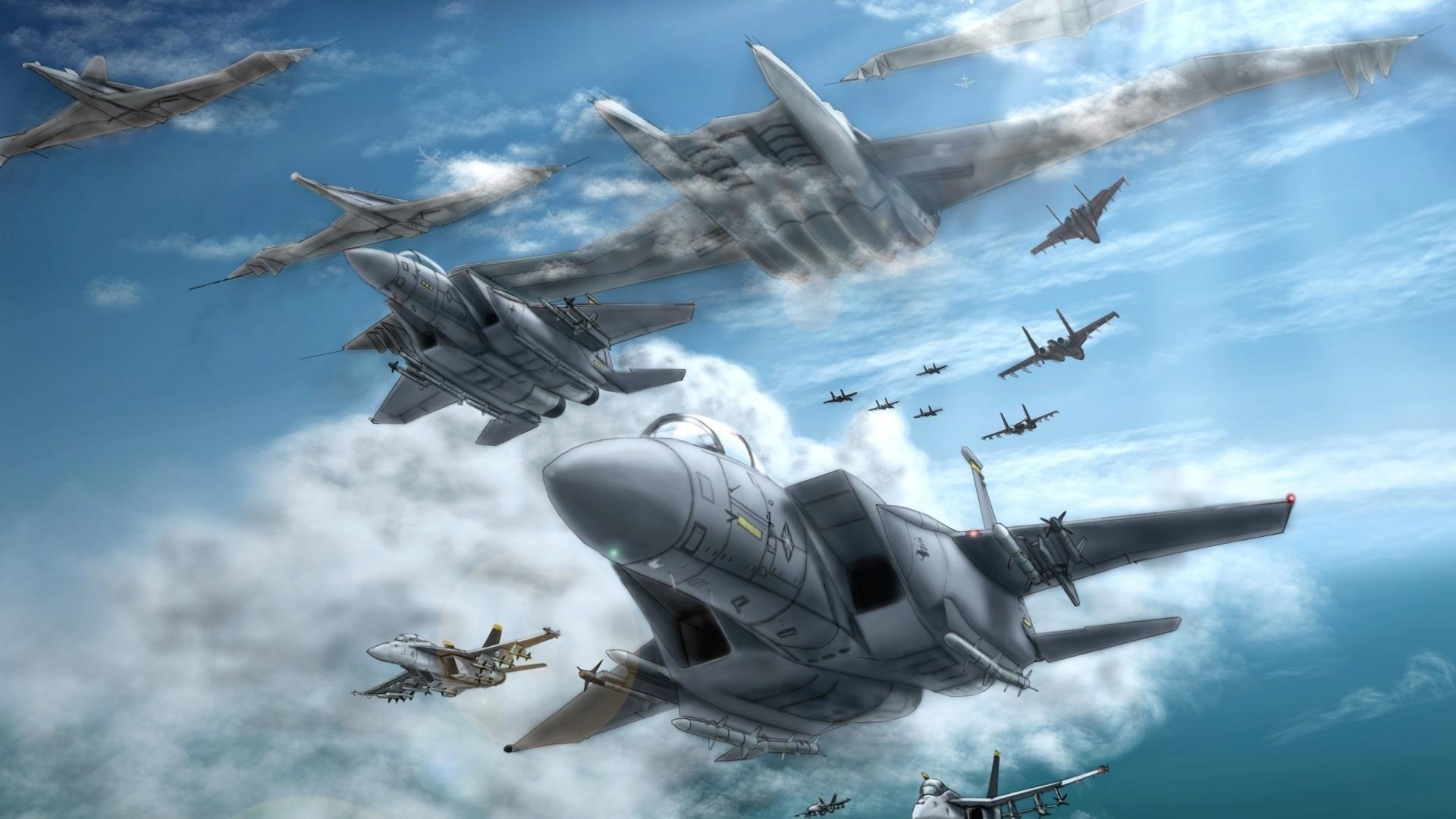 Ace Combat full hd wallpaper for laptop