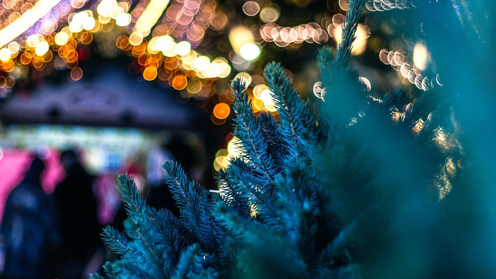 Aesthetic Christmas Background HD