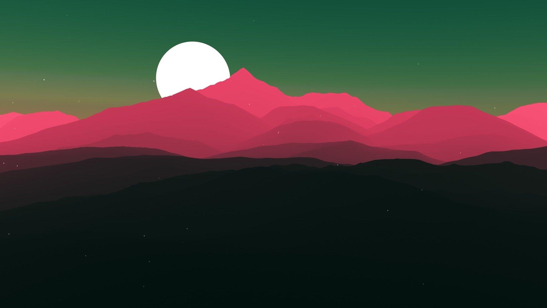 Aesthetic Moon Wallpaper Desktop