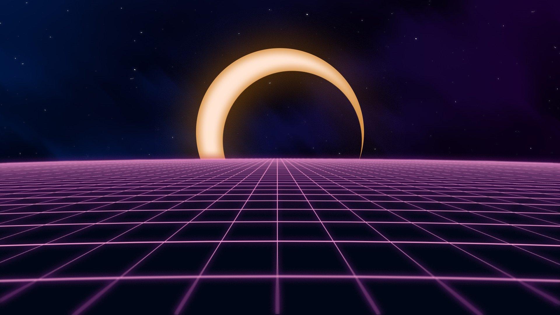 Aesthetic Moon Wallpaper Download Full