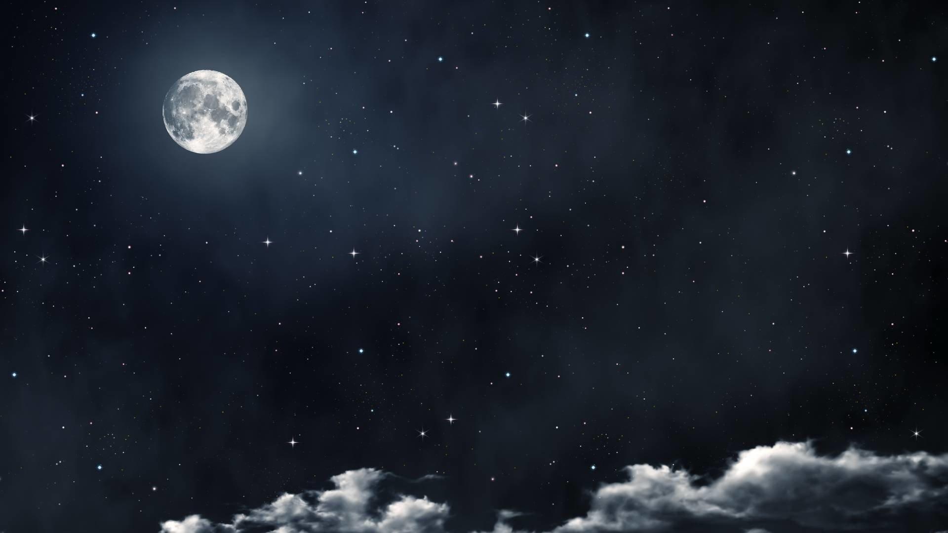 Aesthetic Moon Wallpaper HD