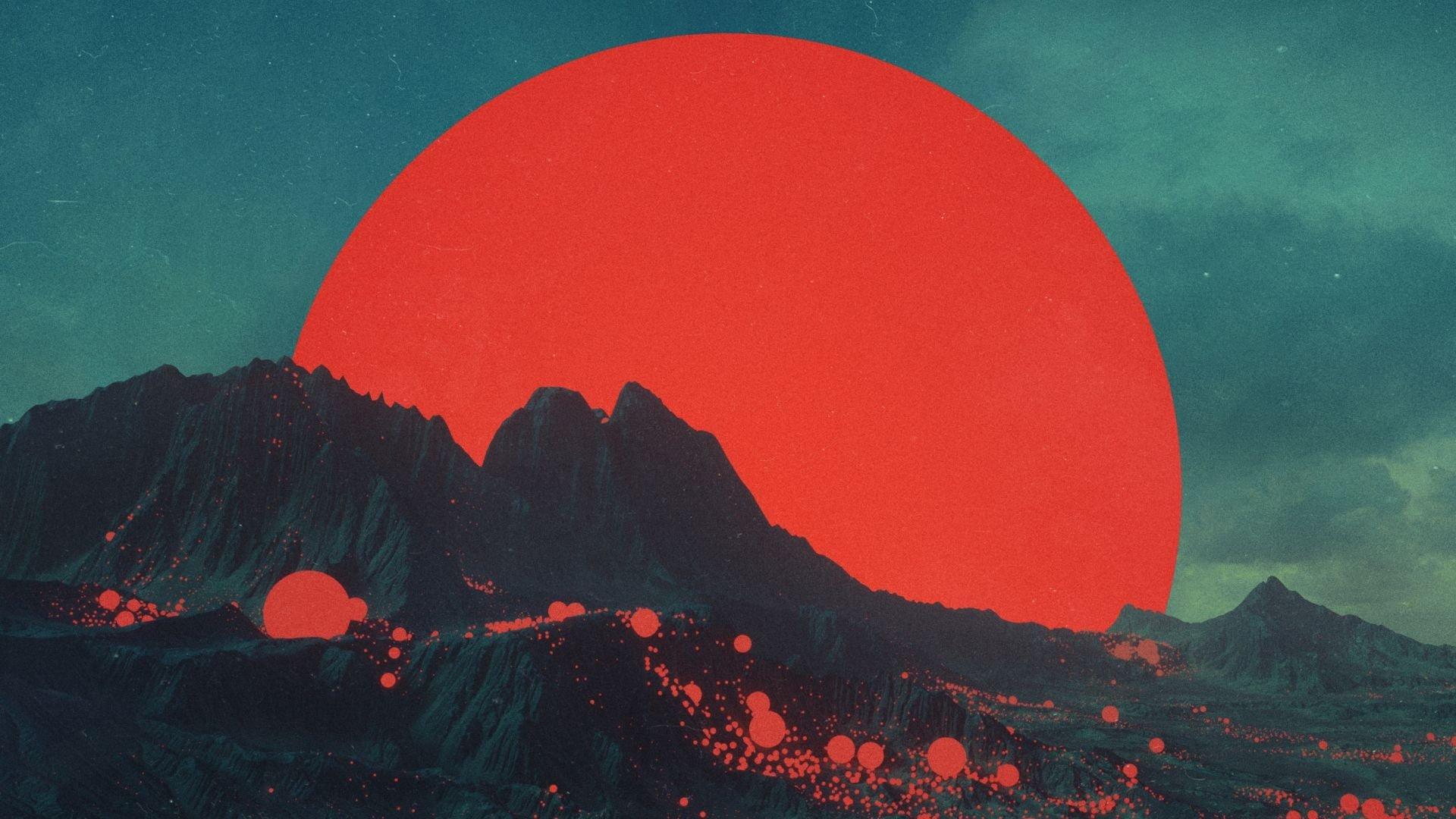Aesthetic Moon Wallpaper Image
