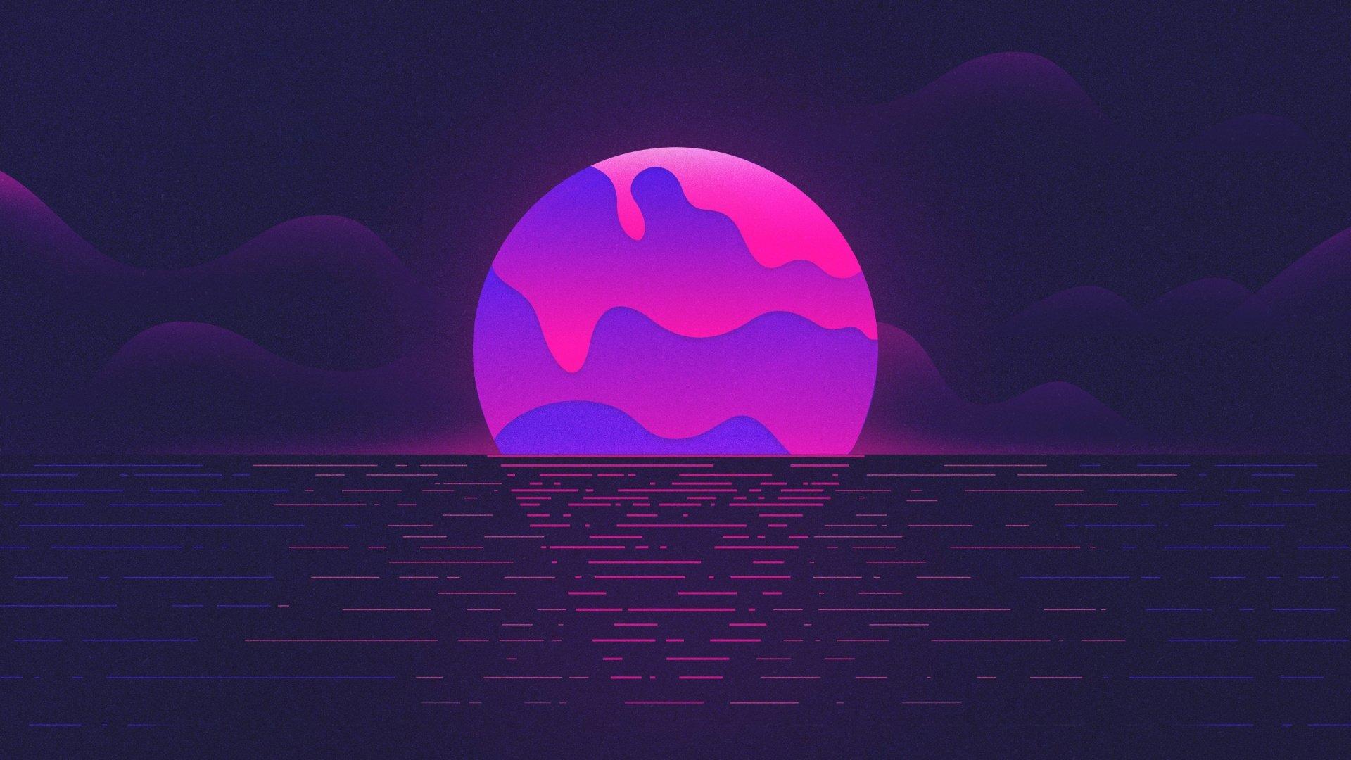 Aesthetic Moon Wallpaper Pic