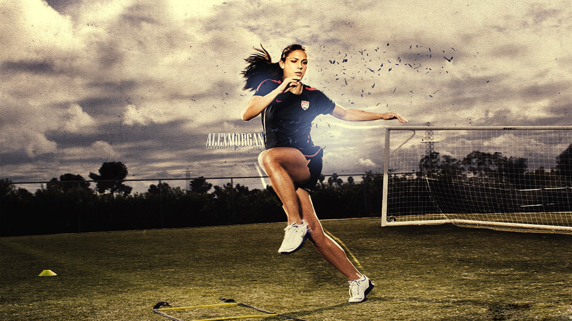 Alex Morgan PC Wallpaper