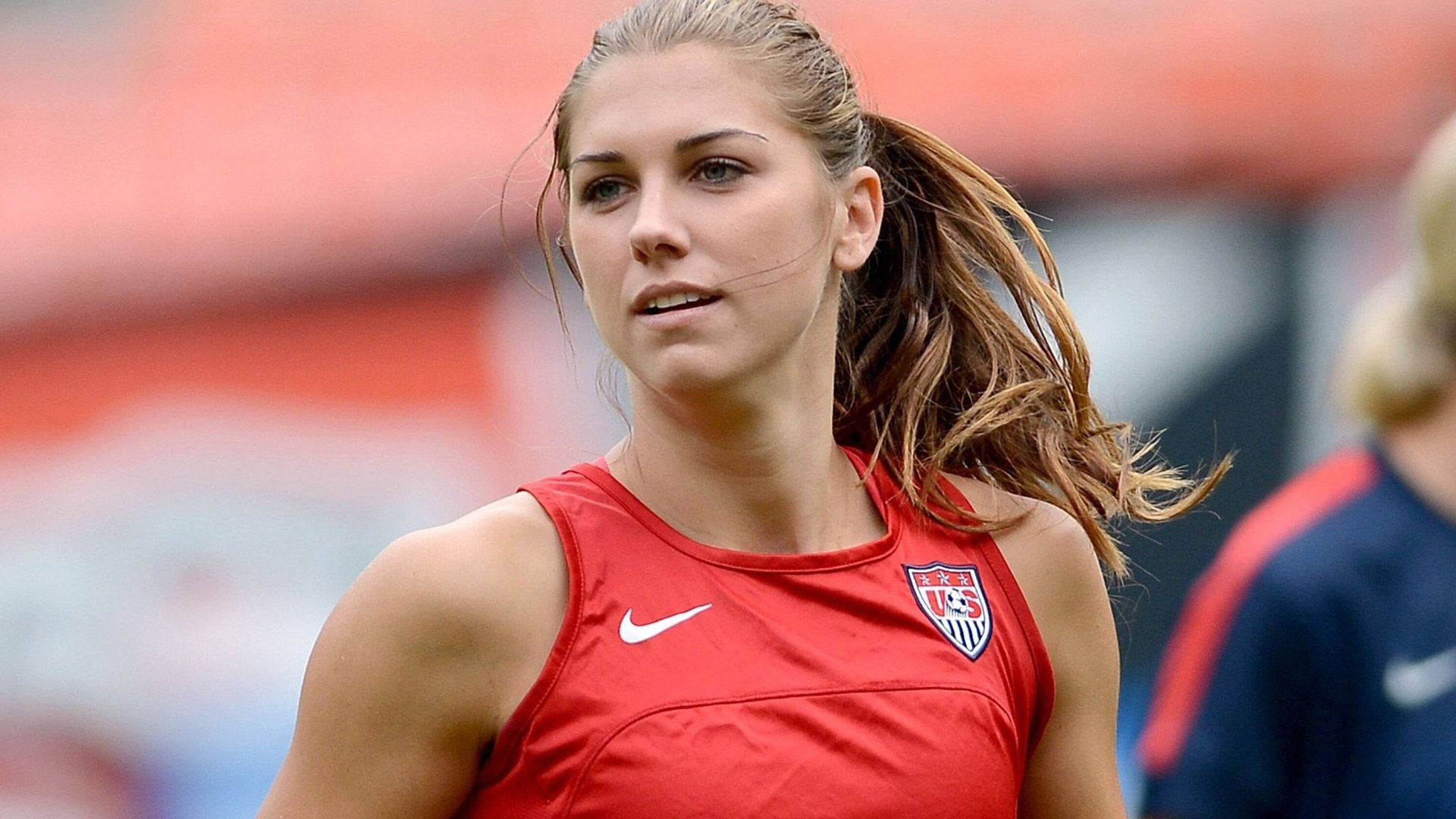 Alex Morgan Free Desktop Wallpaper