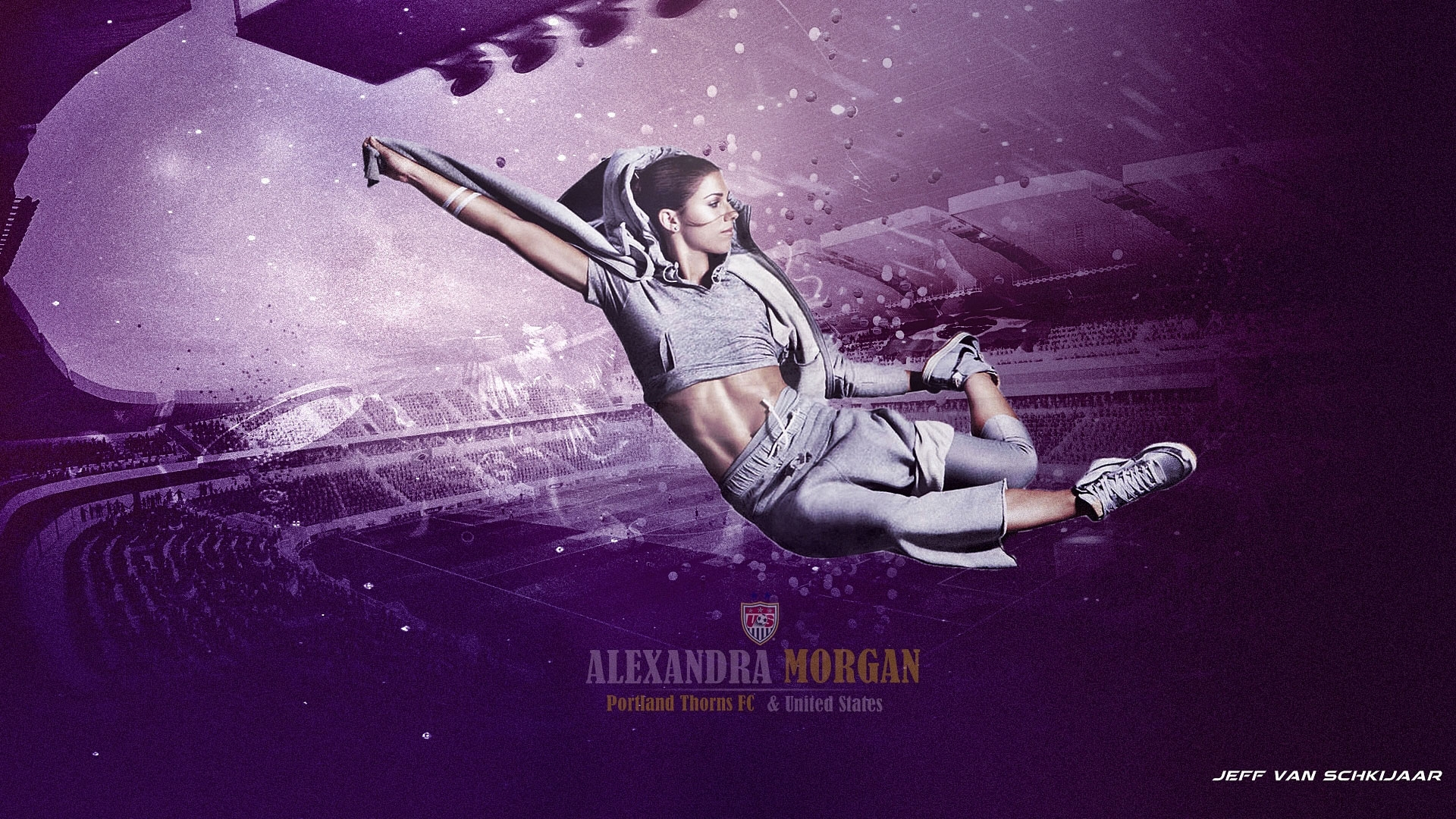 Alex Morgan full screen hd wallpaper