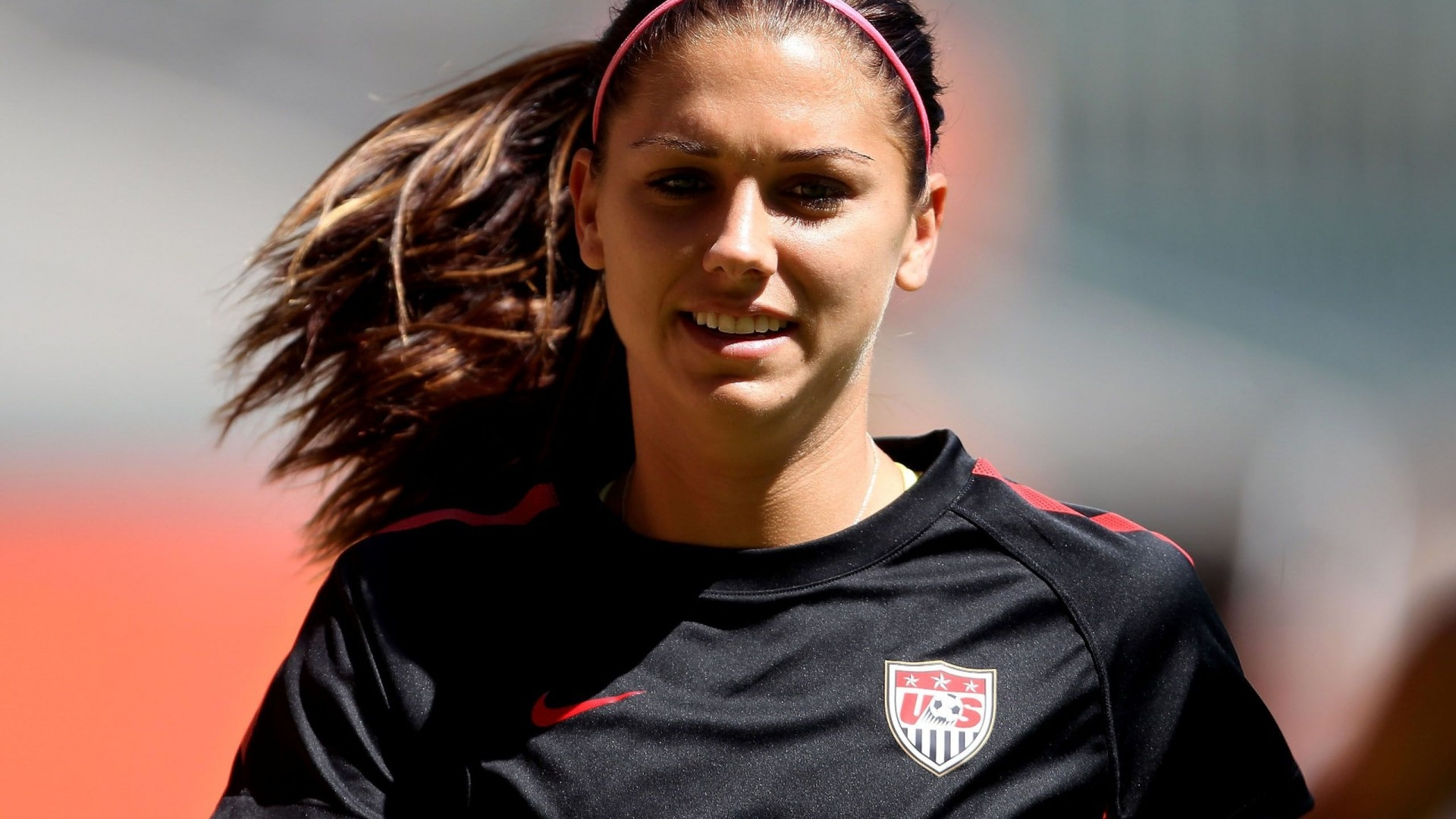 Alex Morgan Full HD Wallpaper