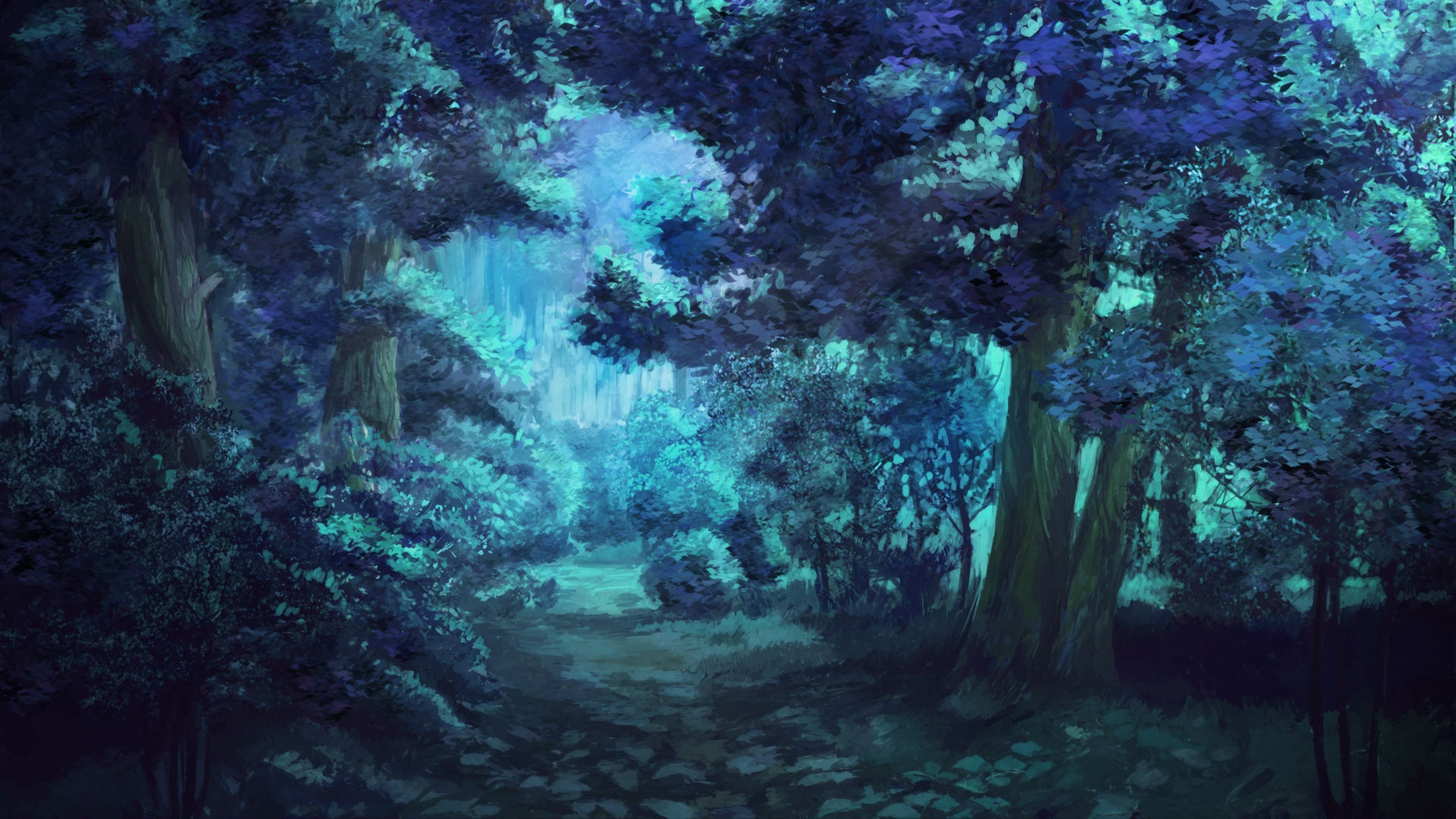 Anime Forest wallpaper picture hd
