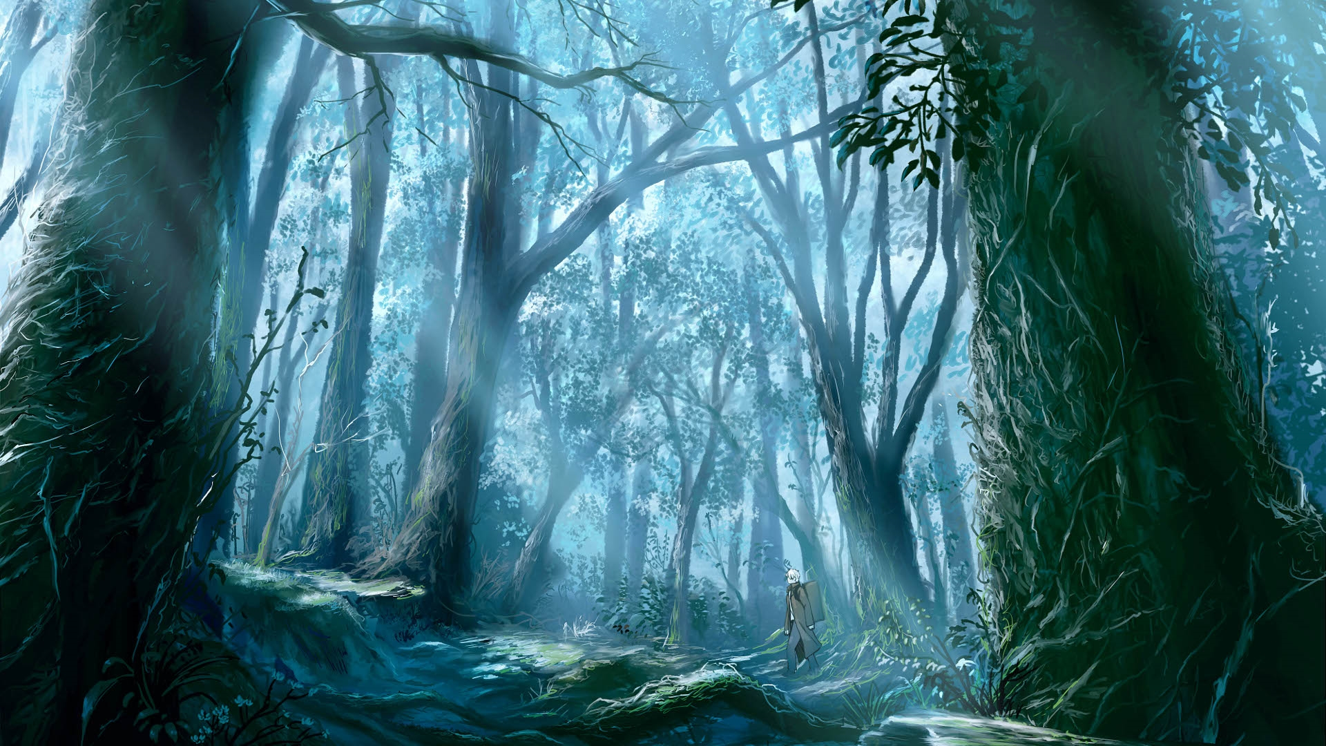 Anime Forest Download Free Wallpaper Image Search