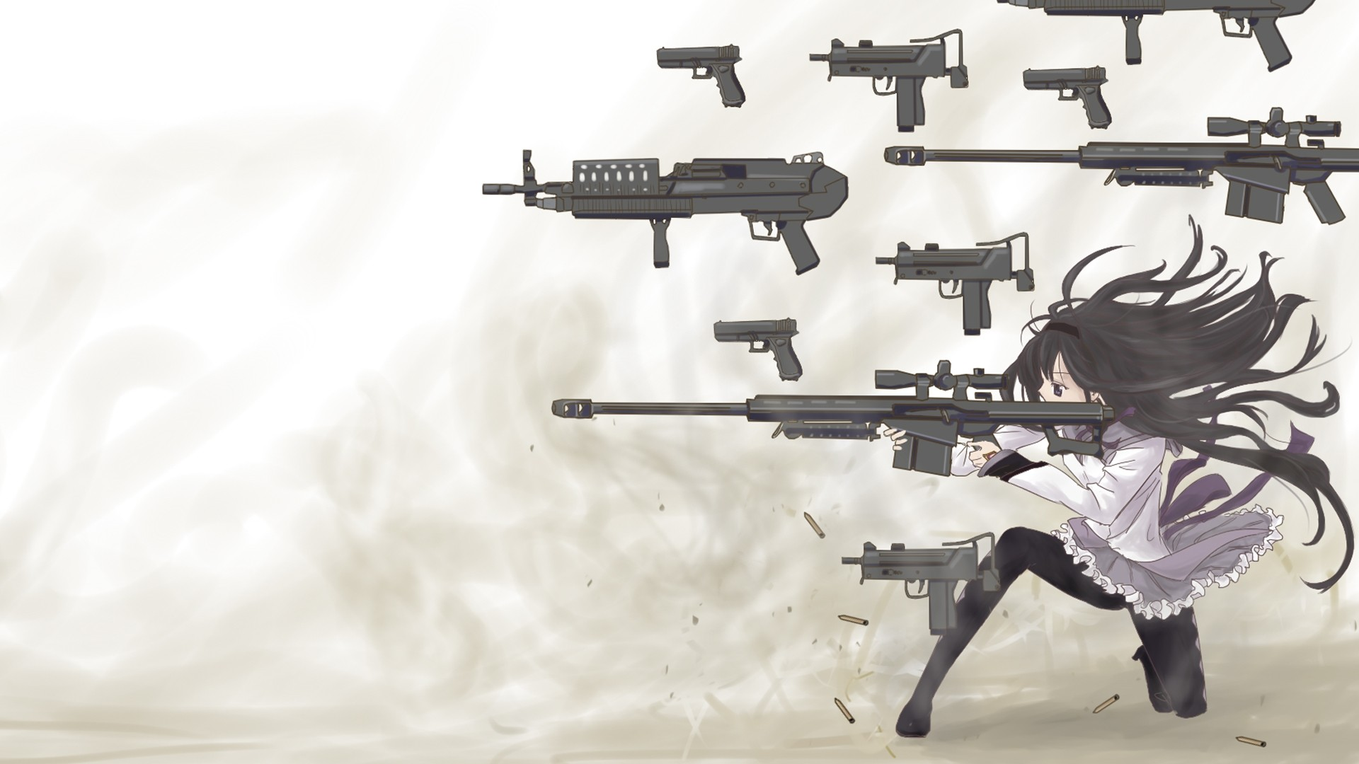 Anime Girls With Guns Wallpaper Pic