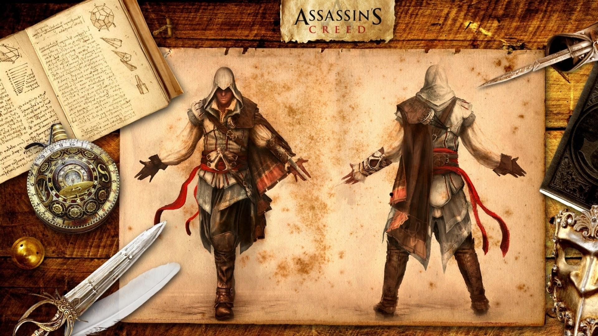 Assassin's Creed 2 Wallpaper 1920x1080