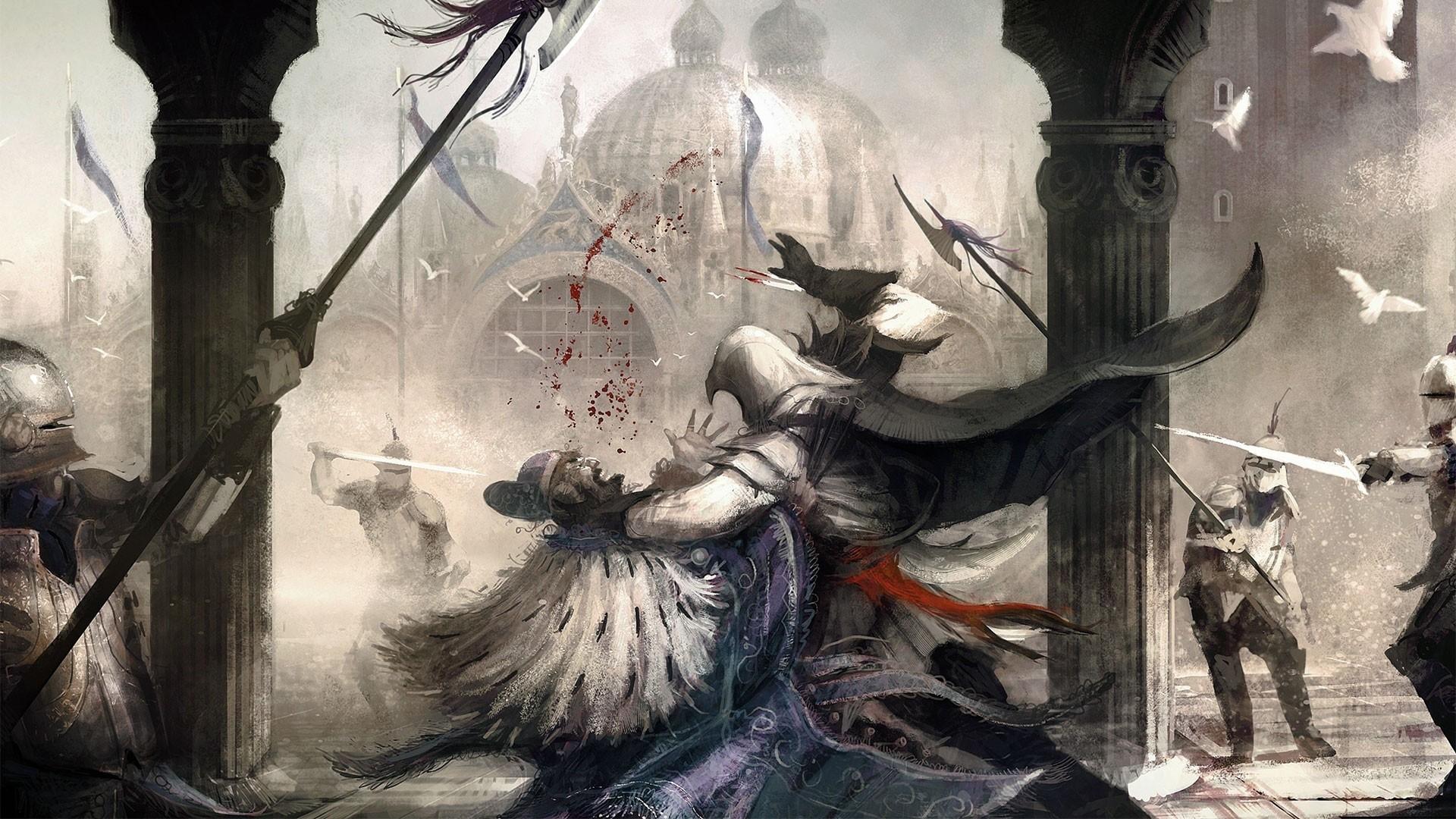 Assassin's Creed 2 Wallpaper Image