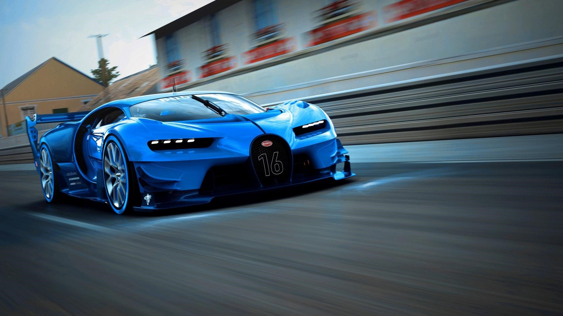Bugatti Chiron Full HD Wallpaper