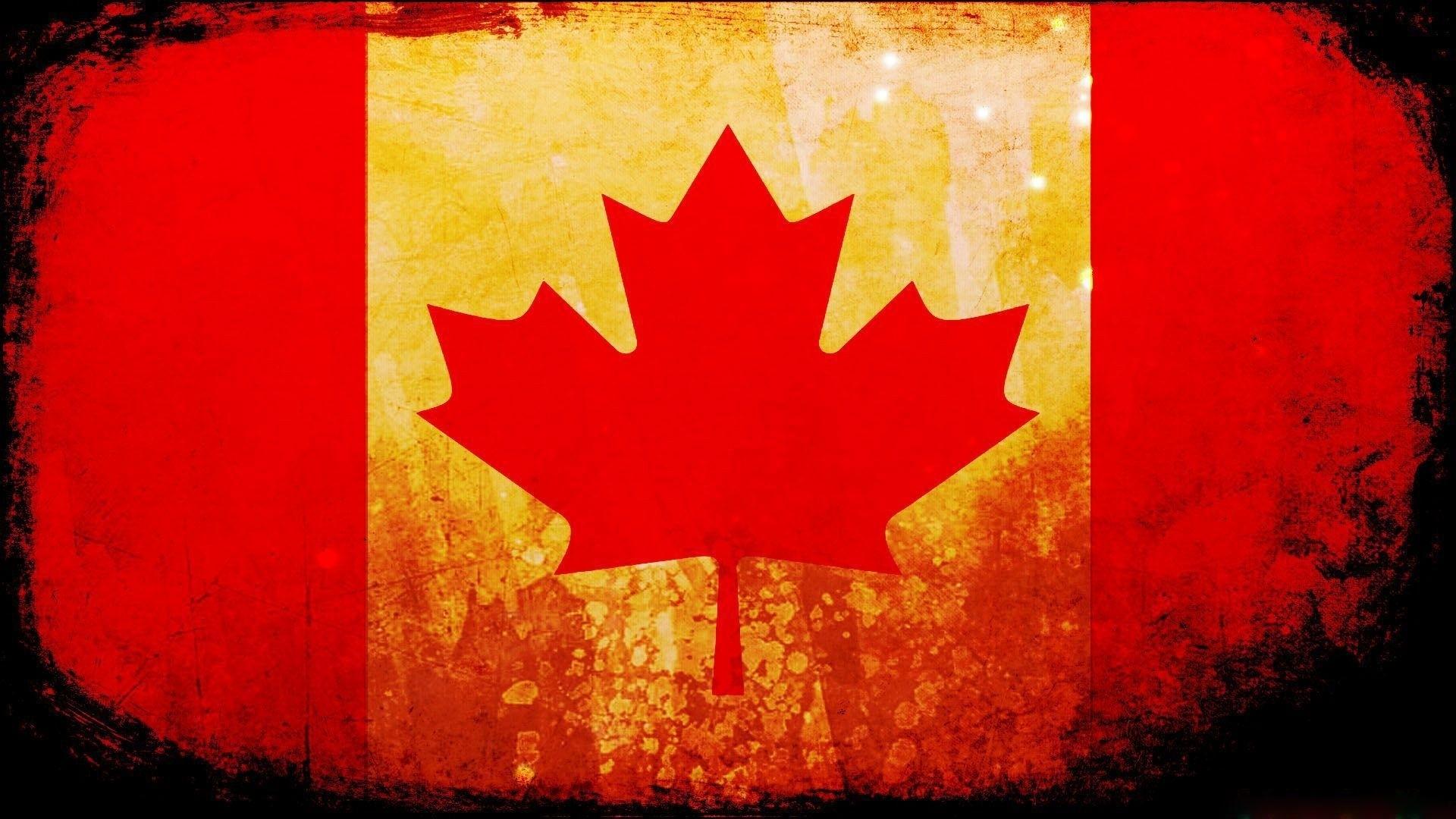 Canada Flag Wallpaper 1920x1080