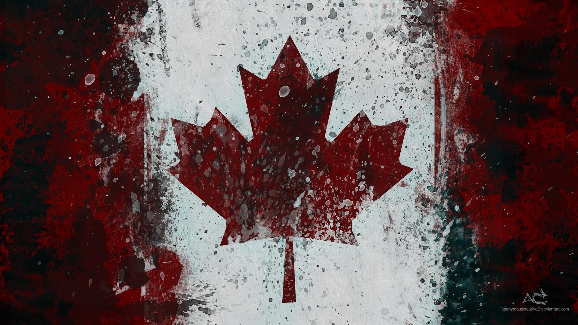 Canada Flag Wallpaper Desktop