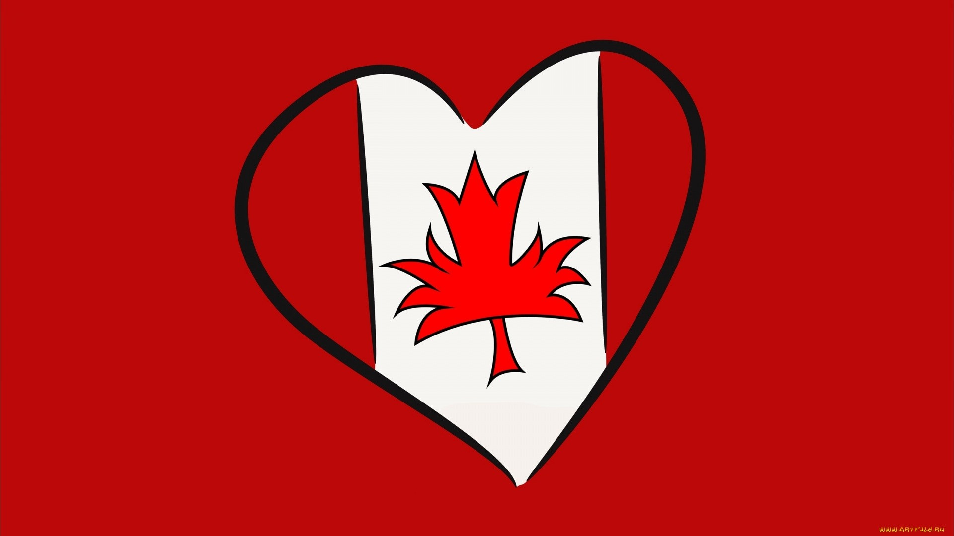 Canada Flag Wallpaper Full HD