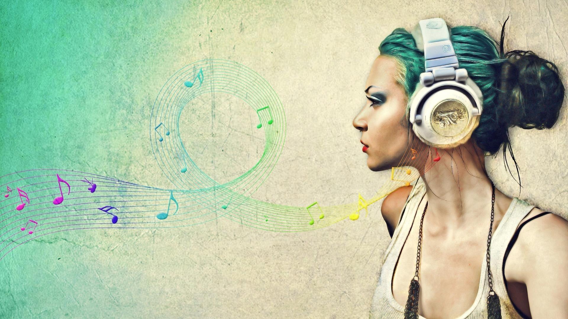 Cute Music Background Wallpaper
